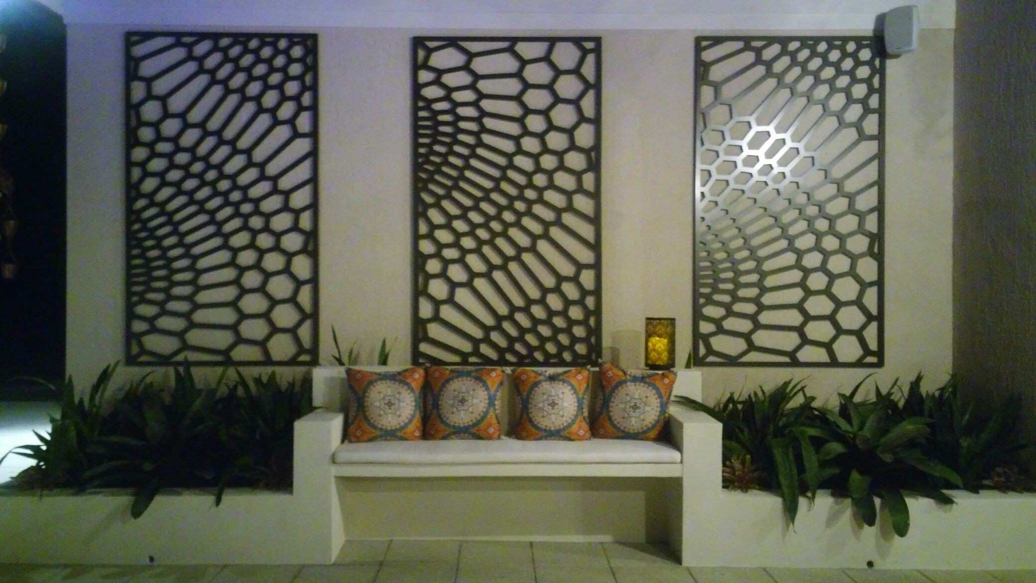 Outdoor wall decor JALI DESIGN Pinterest