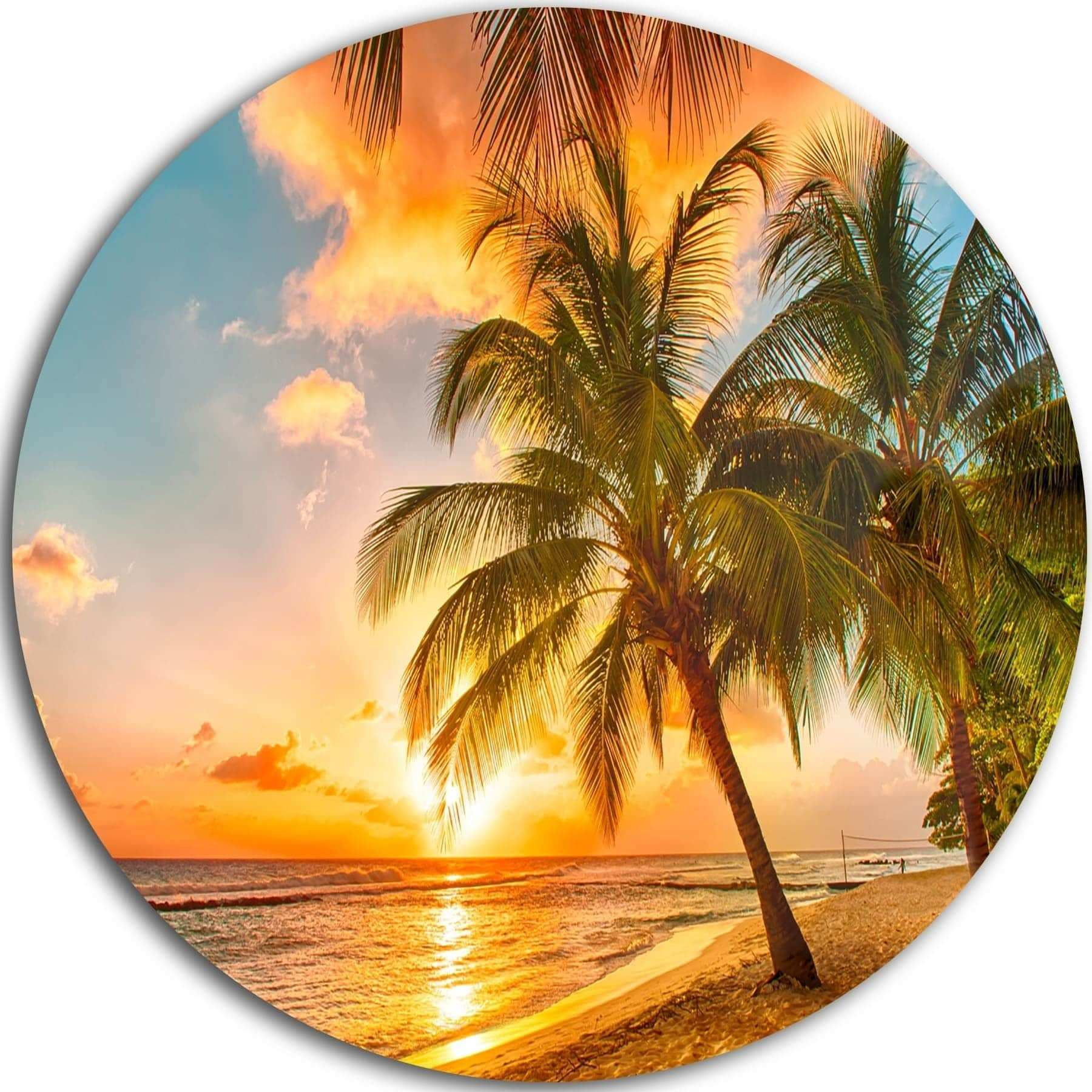 Funky Metal Palm Tree Wall Art Image Wall Art Collections