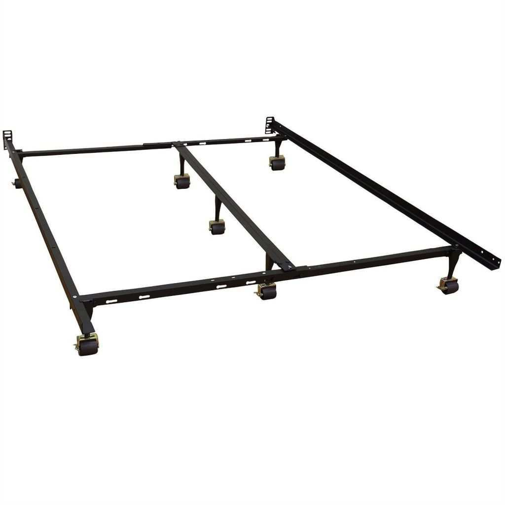 Metal Picture Frames Inspirational California King Size Metal Bed Frame with 7 Legs & Locking Wheels