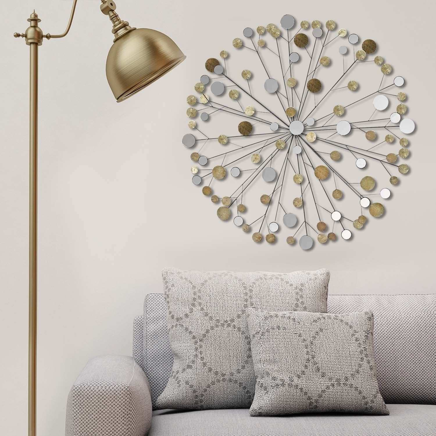 Stratton Home Decor Metallic Starburst Wall Decor Metallic Starbust