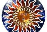 Metal Sun Wall Decor Elegant Outdoor Sun Decorations Metal Wall Decor 3d Face Art Hayneedle