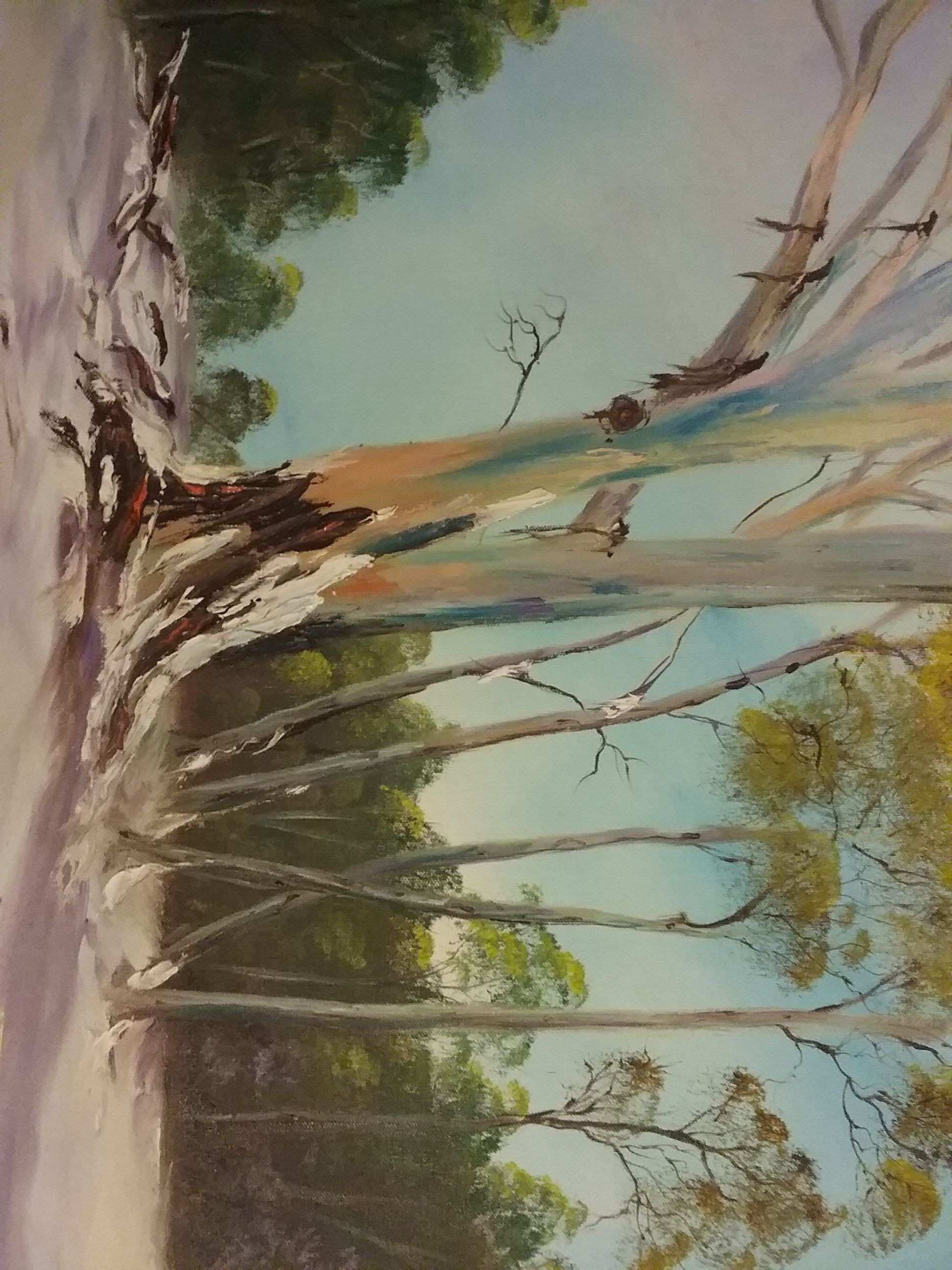 44 Beautiful Collection Tree Life Paintings Canvas
