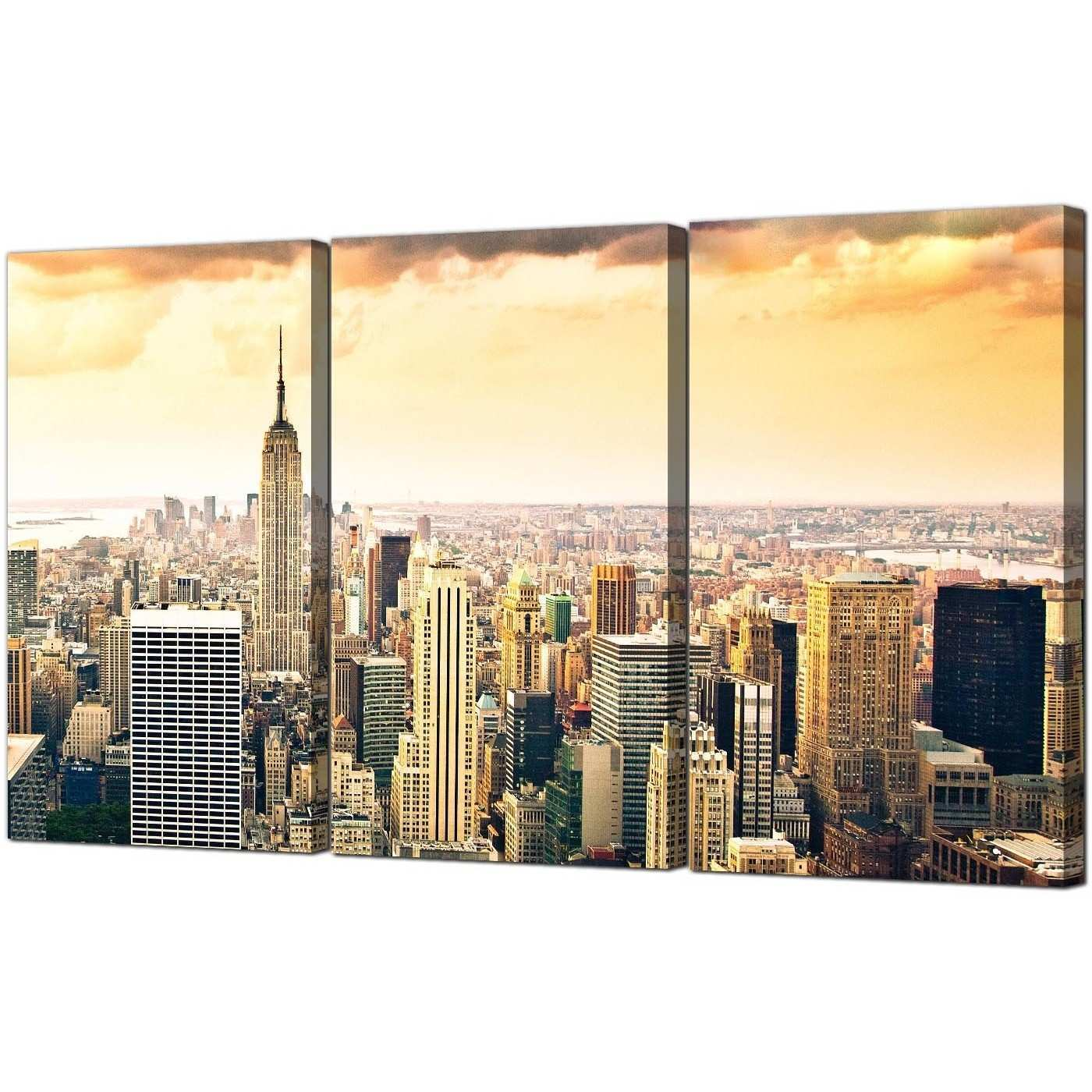 Metal Wall Art New York City Skyline Awesome Beautiful New York ...