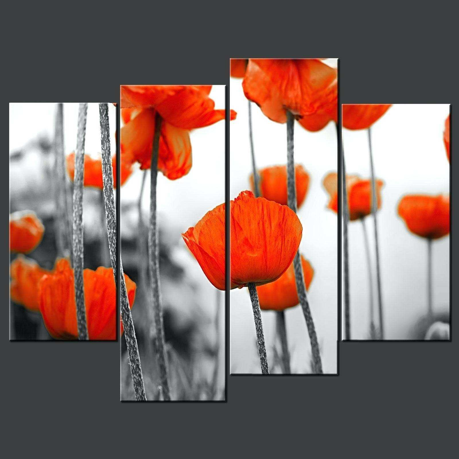 s of Poppy Metal Wall Art Showing 18 of 20 s