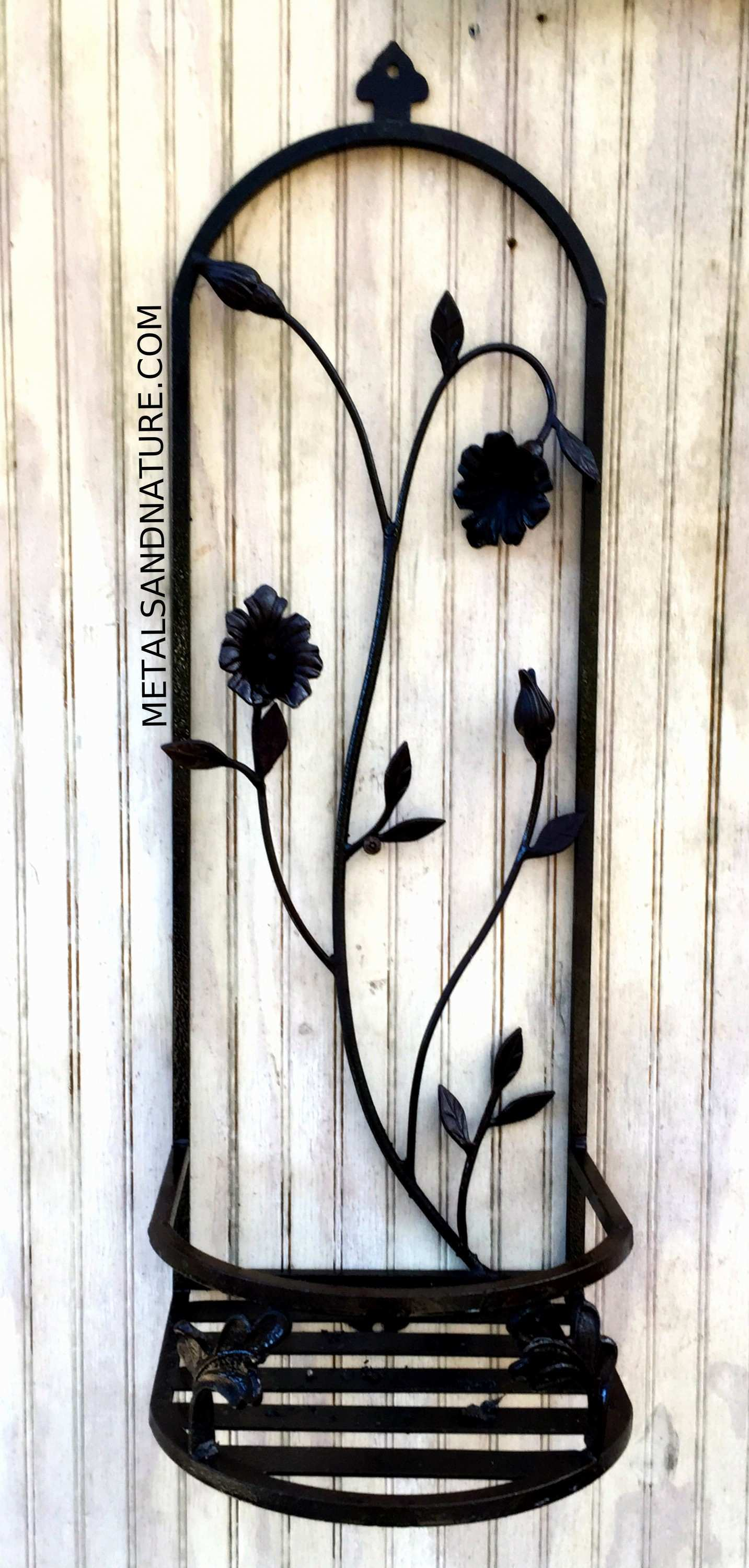 Beautiful Wrought Iron Metal Wall Decor