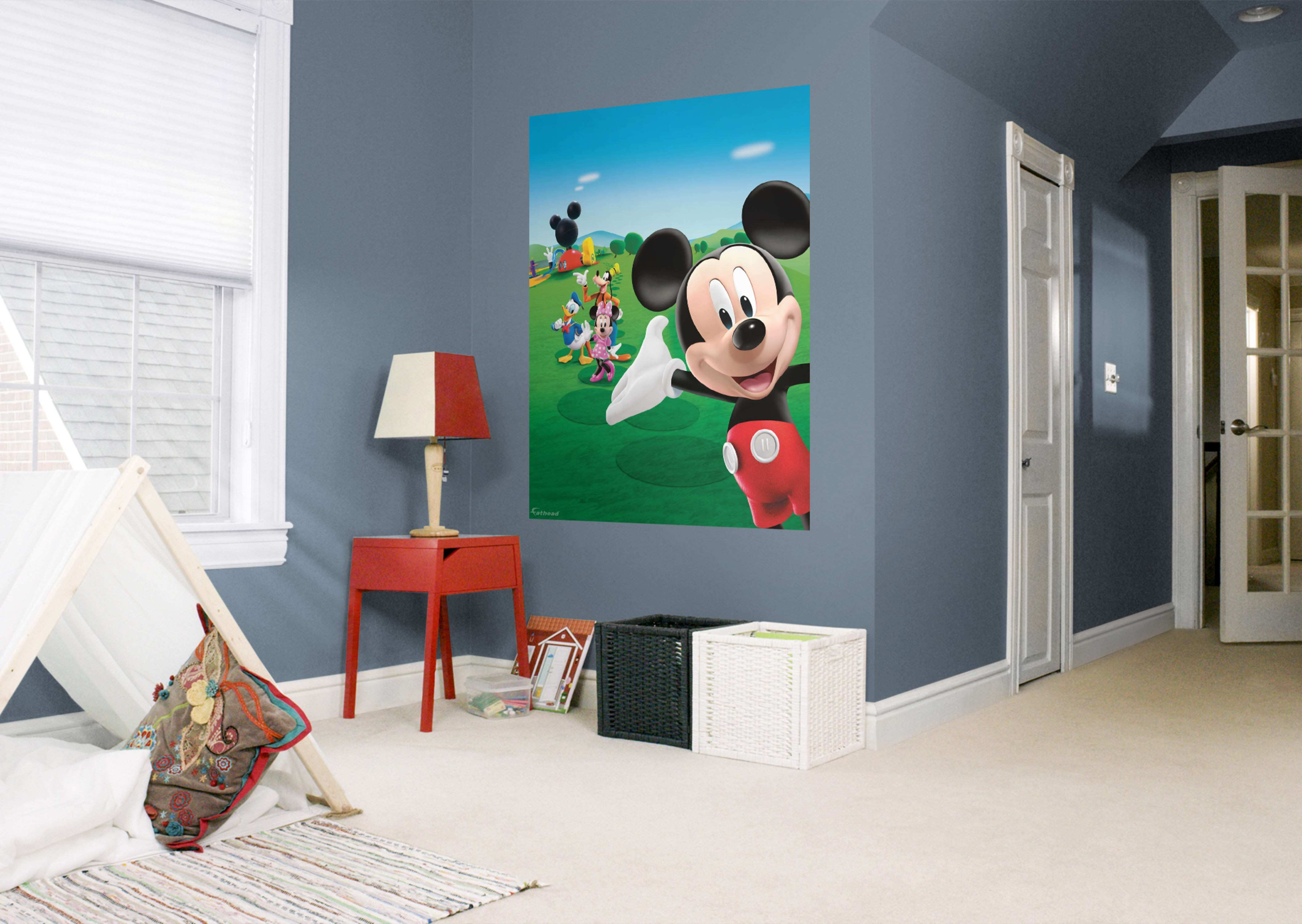 Mickey Mouse Clubhouse Mural Wall Decal