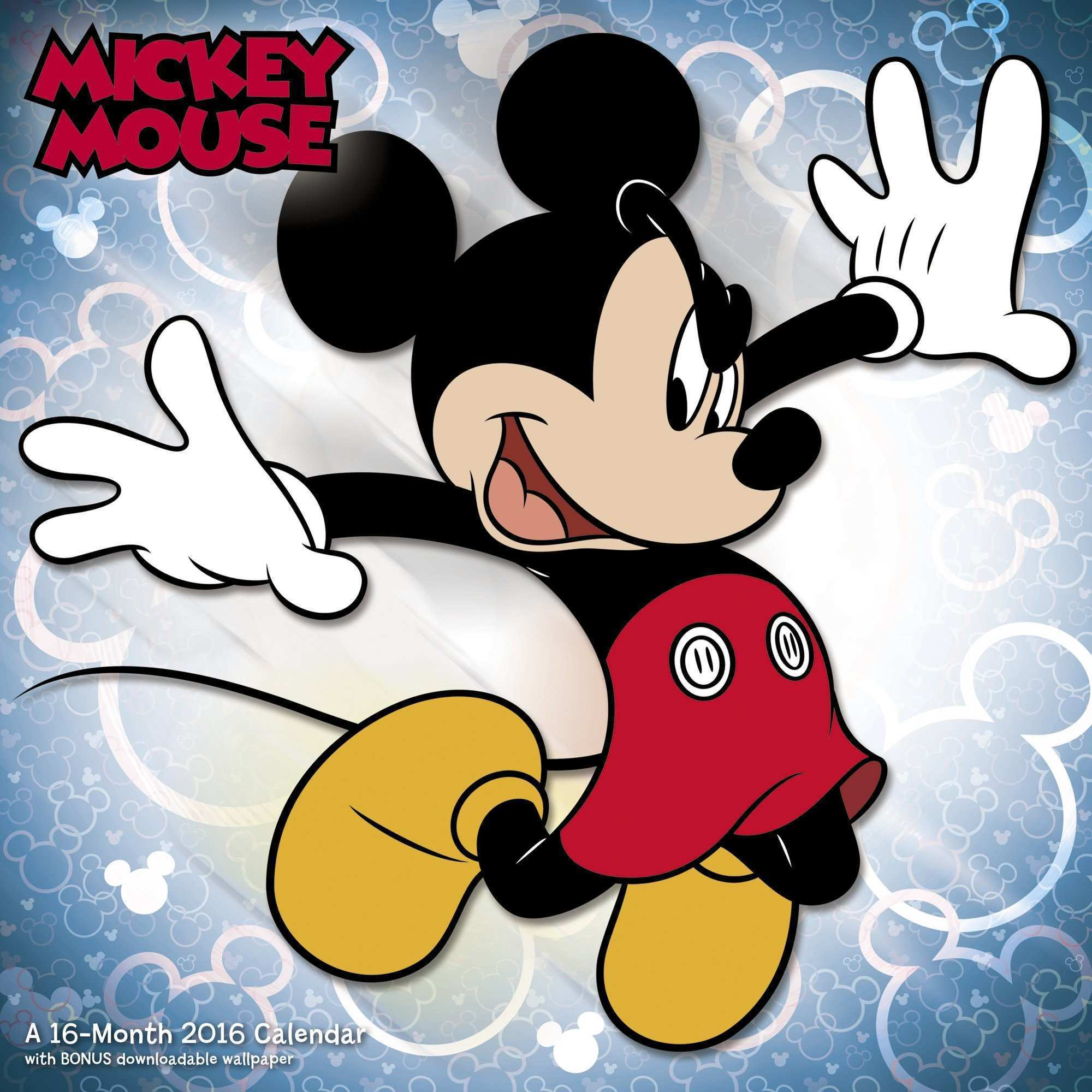 Mickey Mouse Wall Calendar 2016 Mead Books