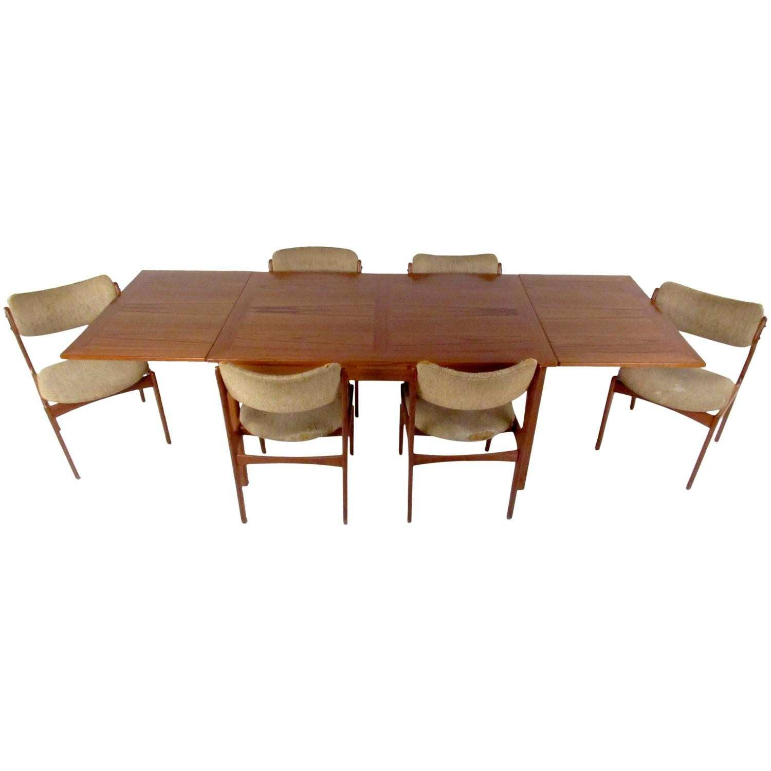 Modern Extension Dining Table Home Decor for Inspiration Mid Century