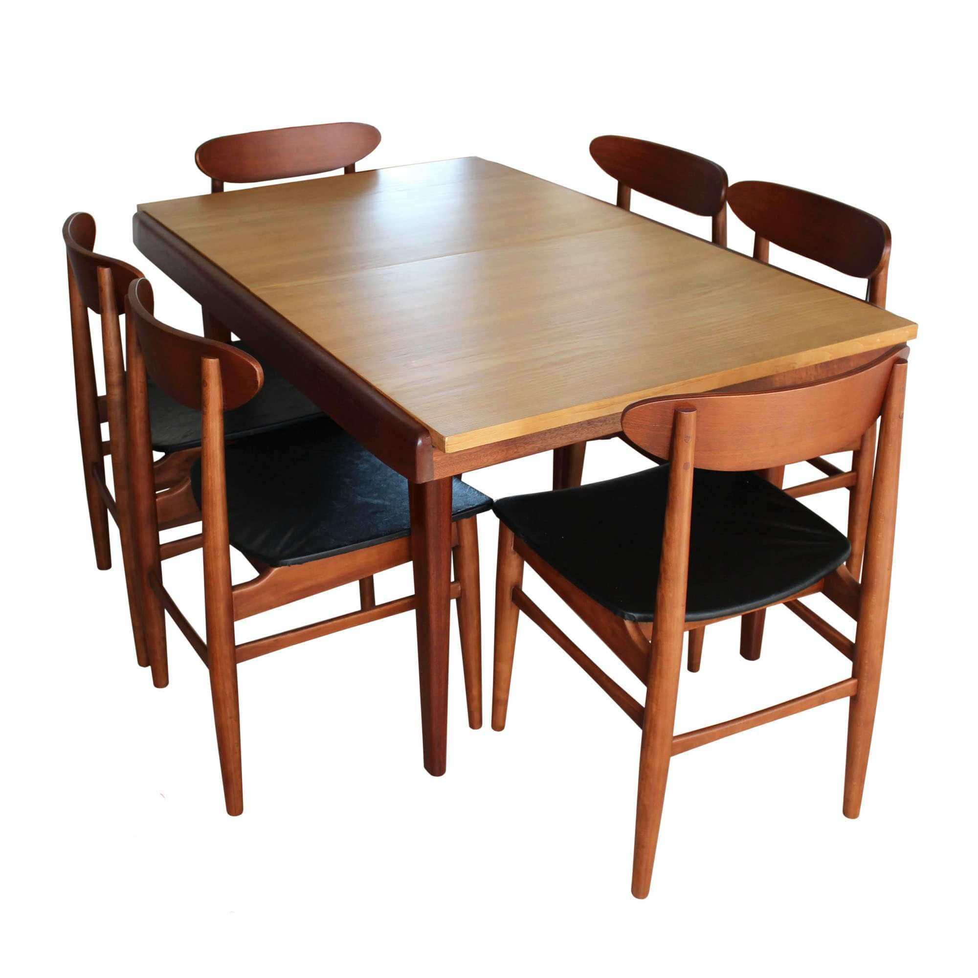 Chair Contemporary Mid Century Od Teak Dining Chairs by Erik Buch