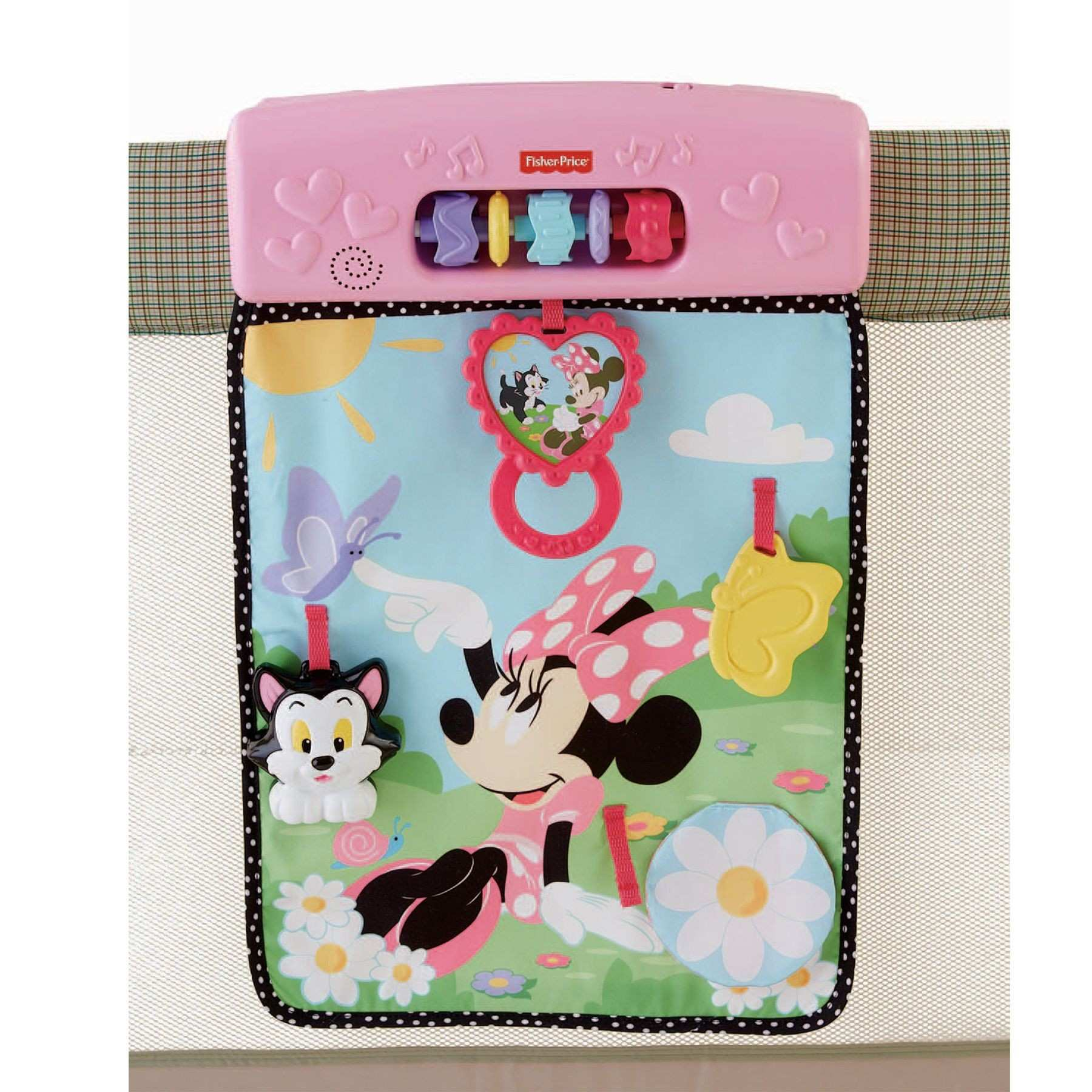 MINNIE MOUSE Musical Activity Play Wall from Fisher Price