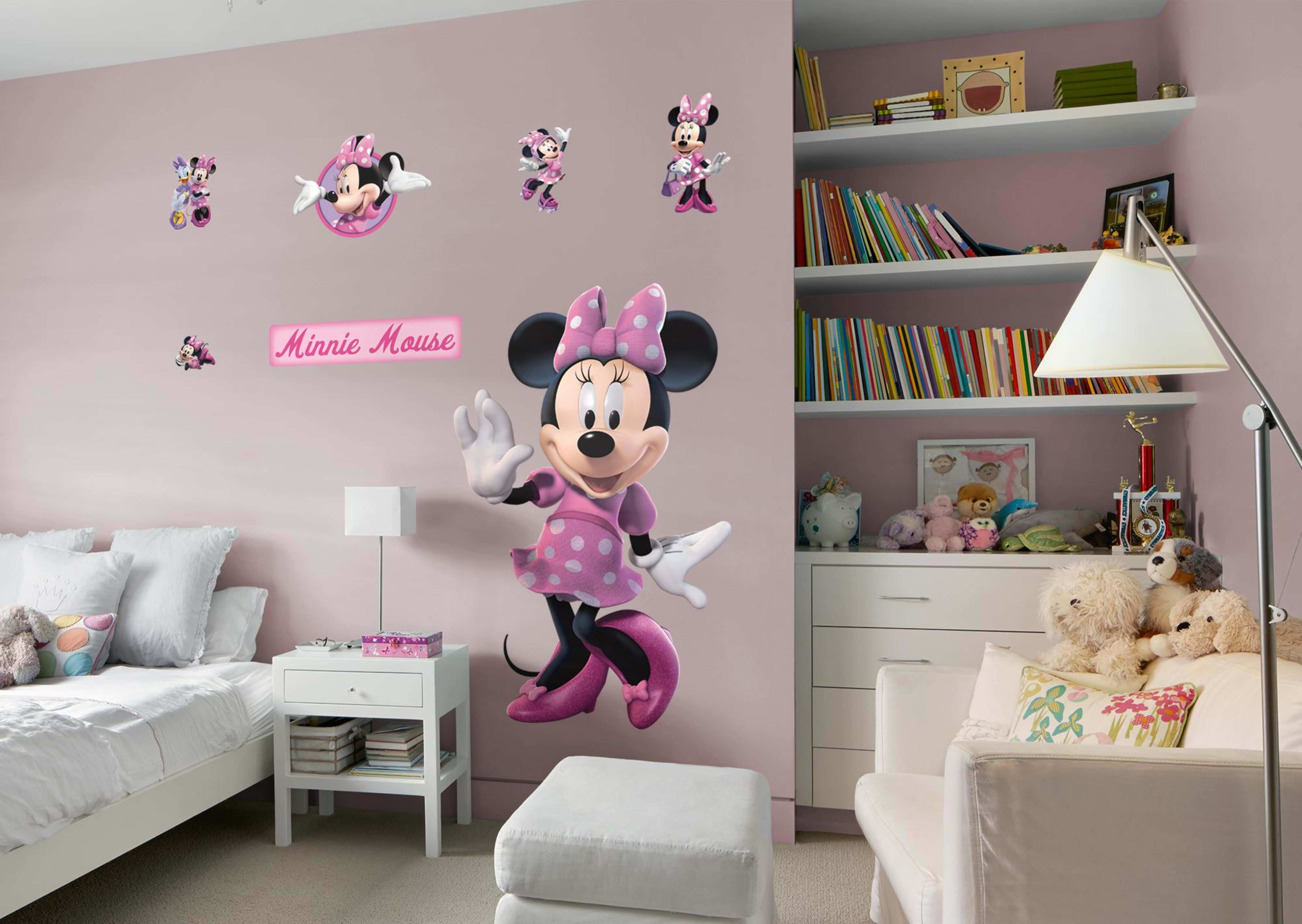 Minnie Mouse Giant ficially Licensed Disney Removable Wall Decal