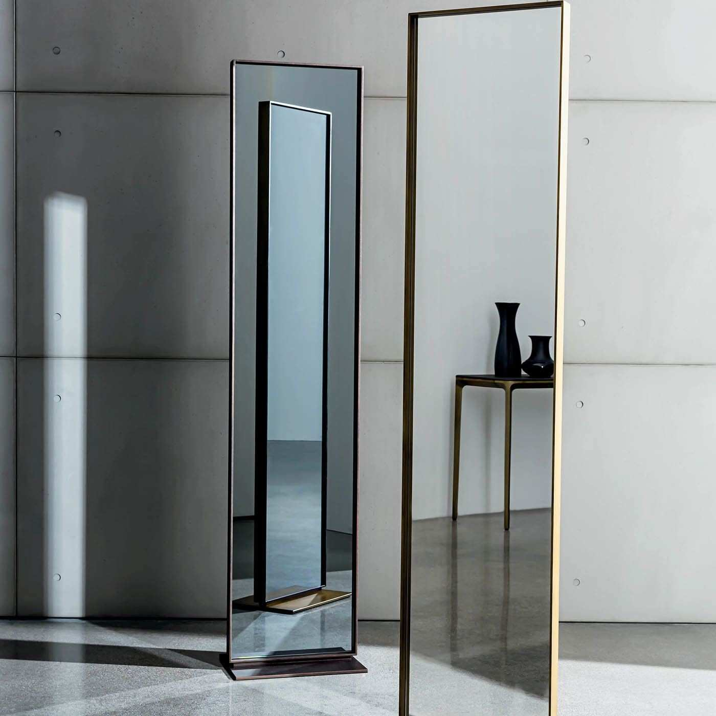 Double Sided Bronze Visual Mirror