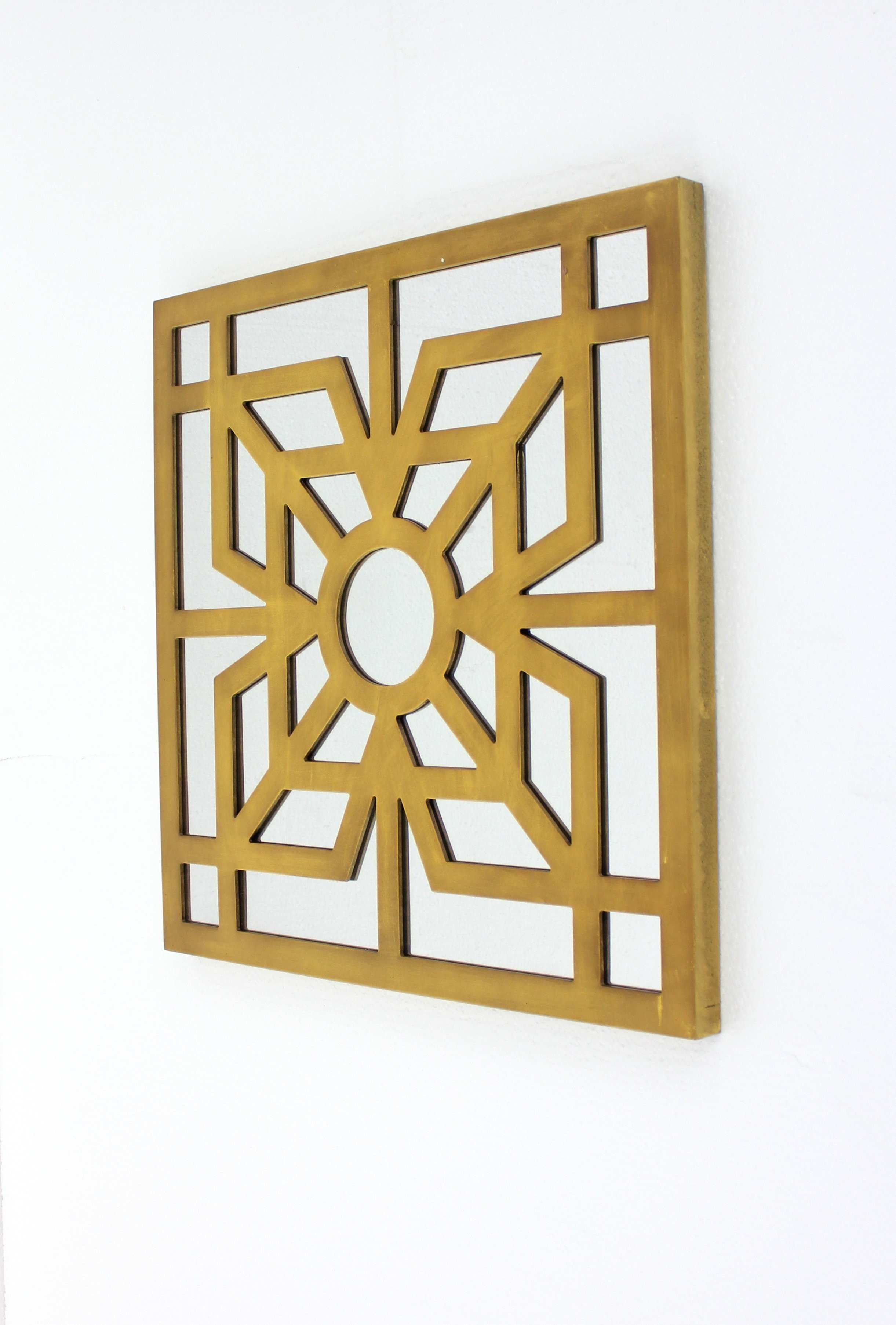 Funky Metal And Wood Wall Decor Vignette Art & Wall Decor