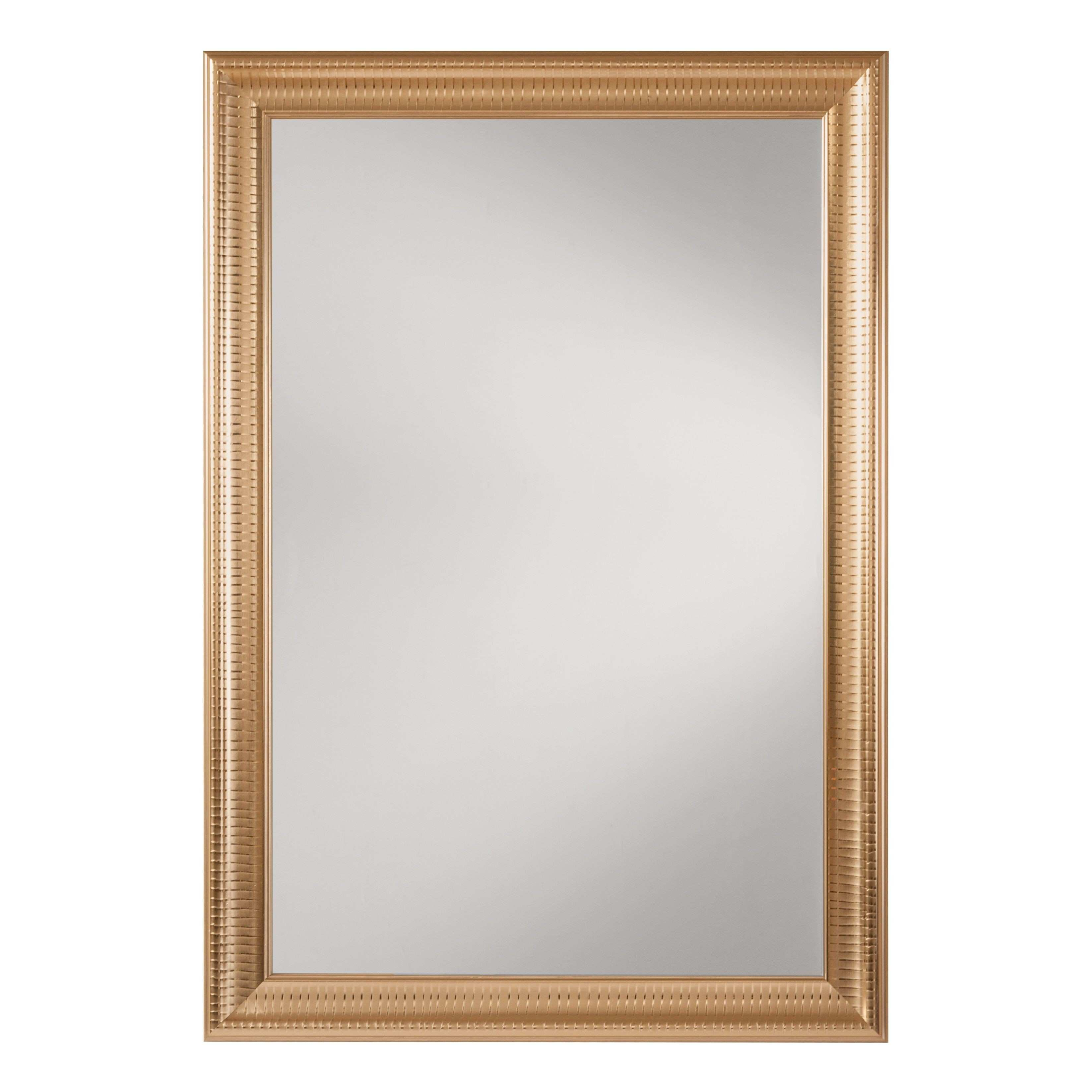Gold Frame Bathroom Mirror Luxury Mirrors Wall Decor the Home Depot