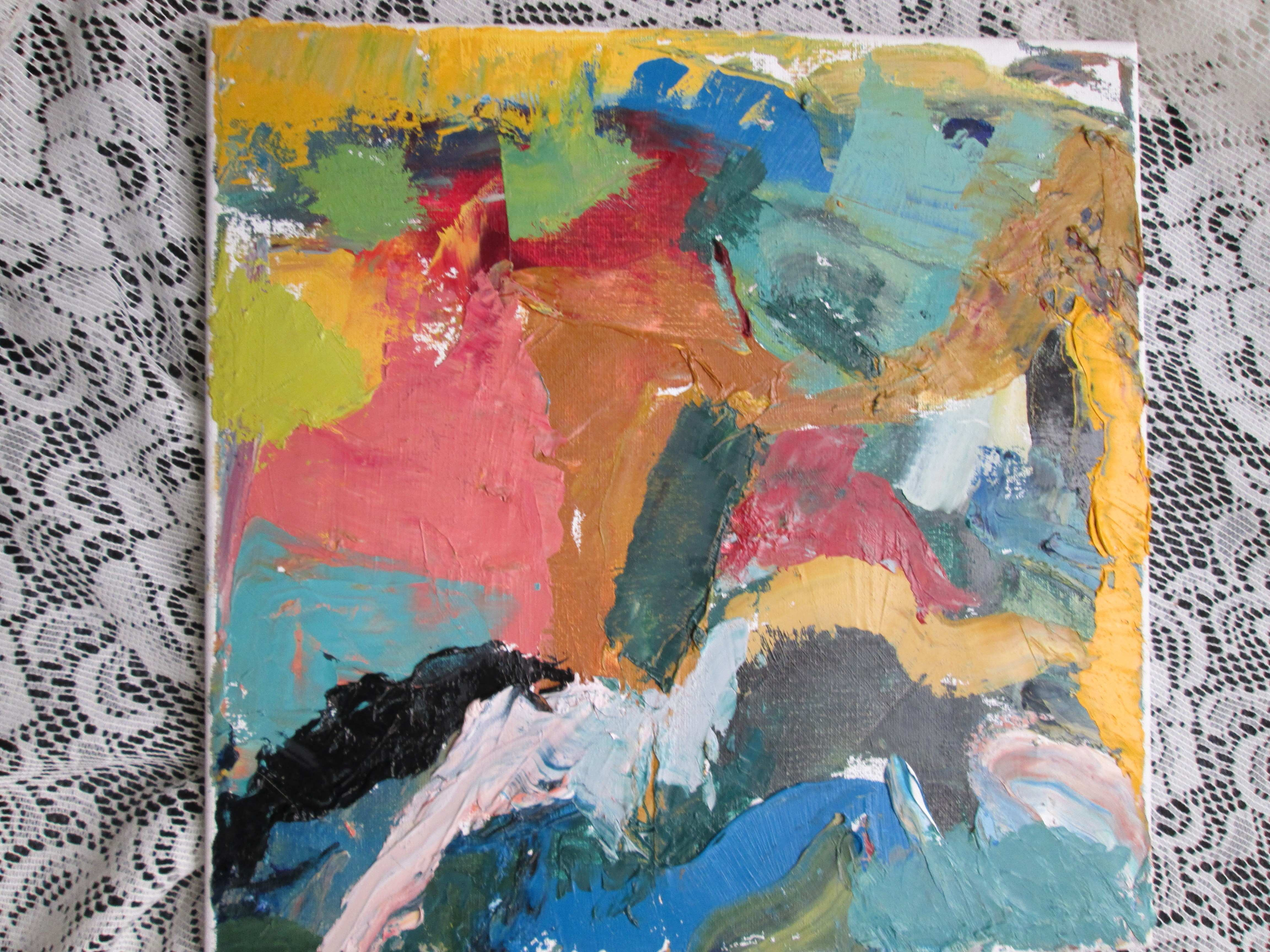 Abstraction and Garbage Painting