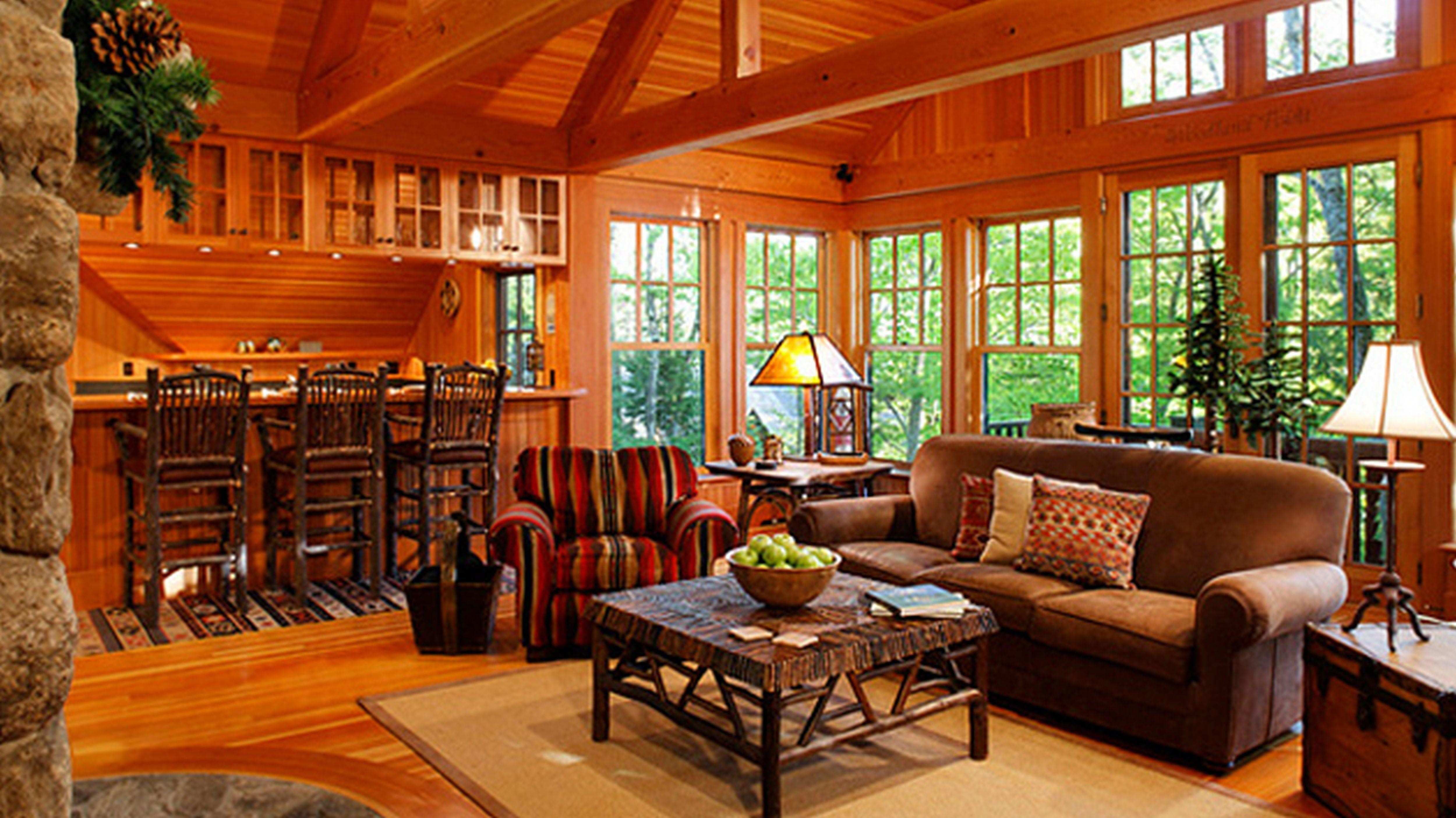 Modern Cabin Living Room Beautiful Fabulous Country Style Decor for