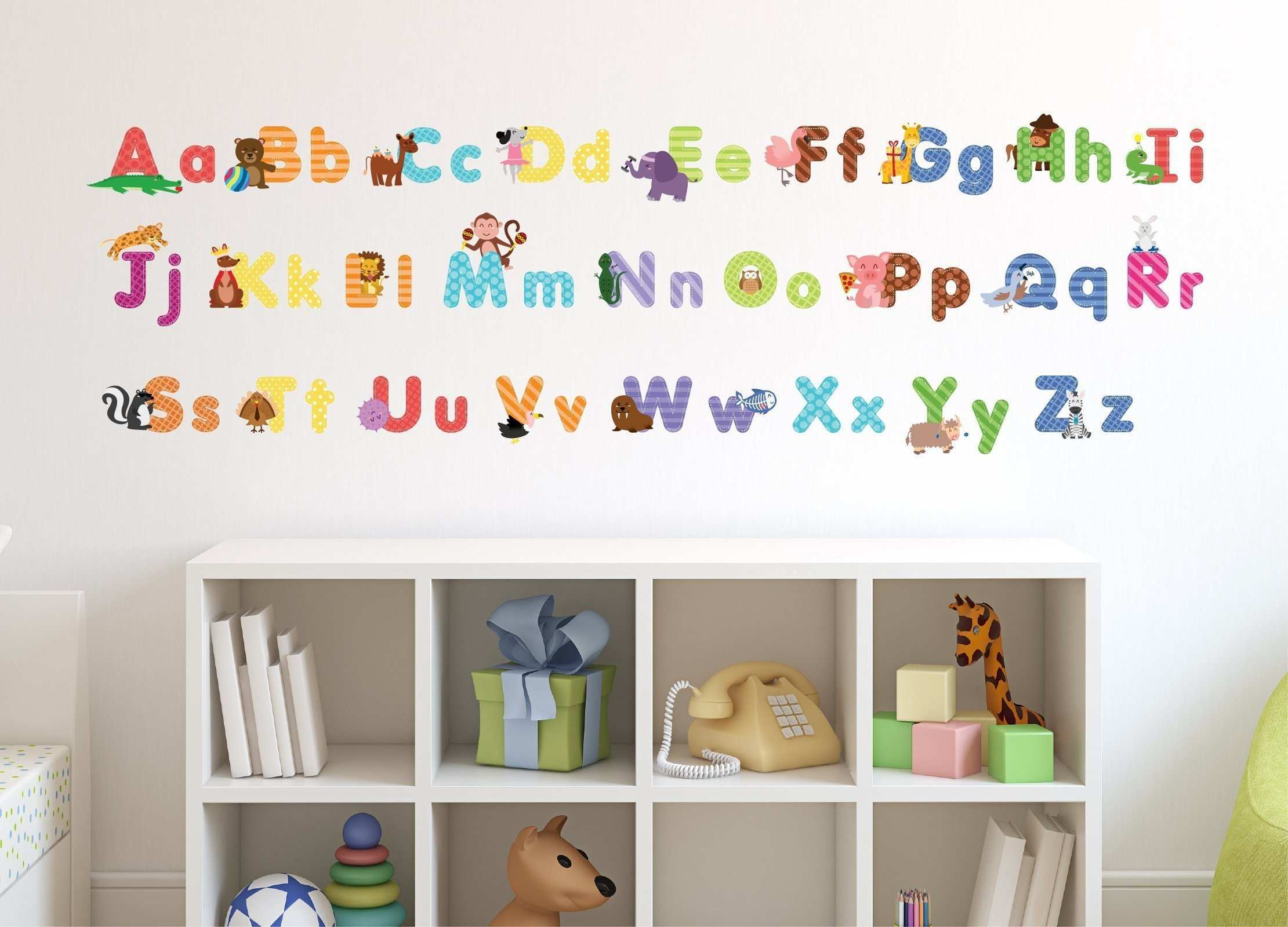 Monkey Wall Stickers Awesome Luxury Alphabet Wall Decals Amazon