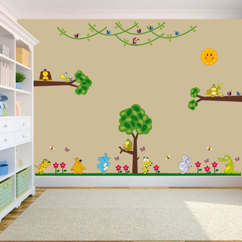 Monkey Wall Stickers Luxury 12 Beautiful Wall Art Stickers for Baby Nursery Rilane We Clipgoo