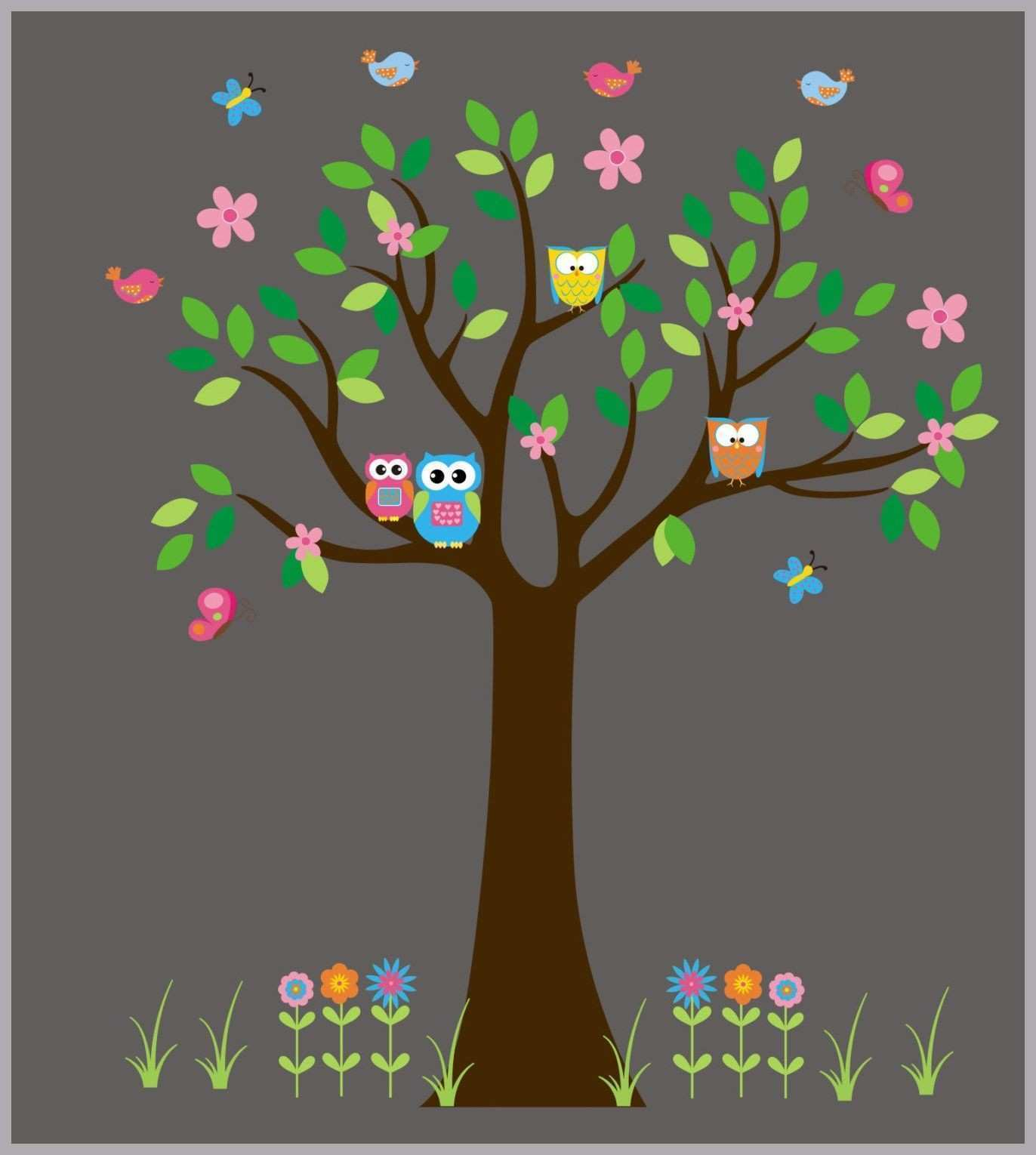 Monkey Wall Stickers New Woodland Wall Decals forest Wall Stickers Woodland Wall Decor