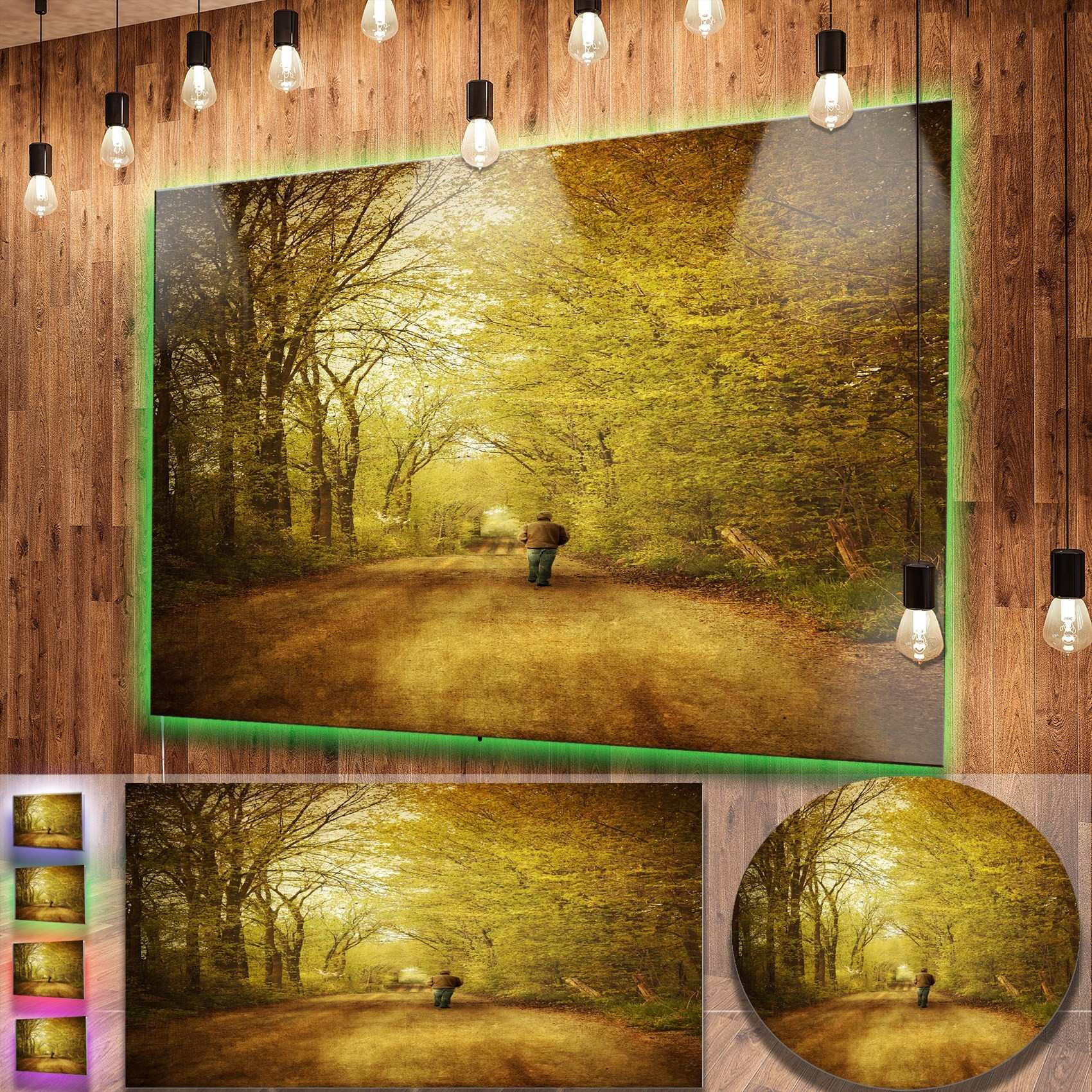 Dorable Decmode Metal Wall Decor Multi Color Image Collection Wall