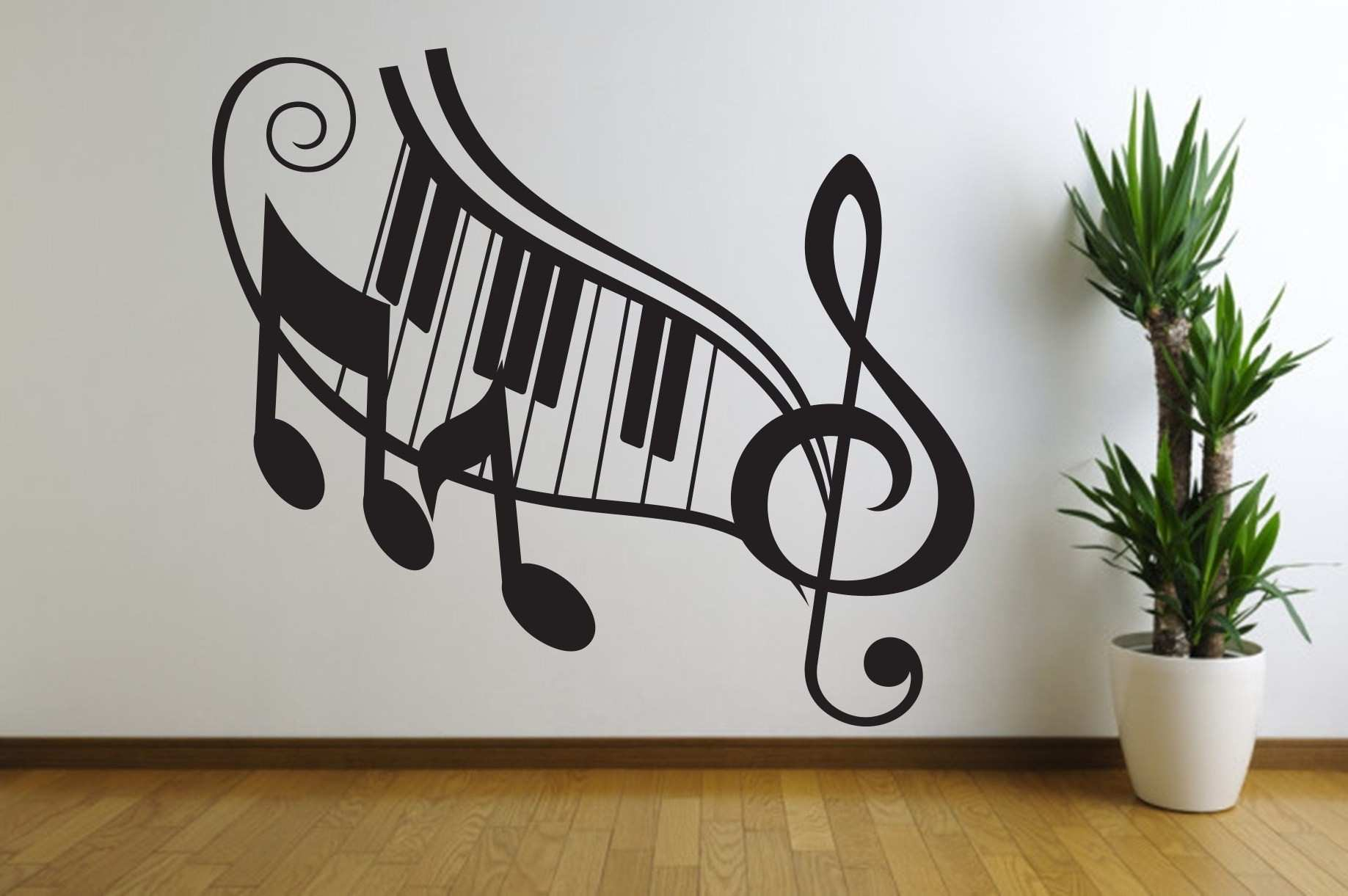 Music Wall Art In Multipurpose Guitar Gril Musical Wall Decoration