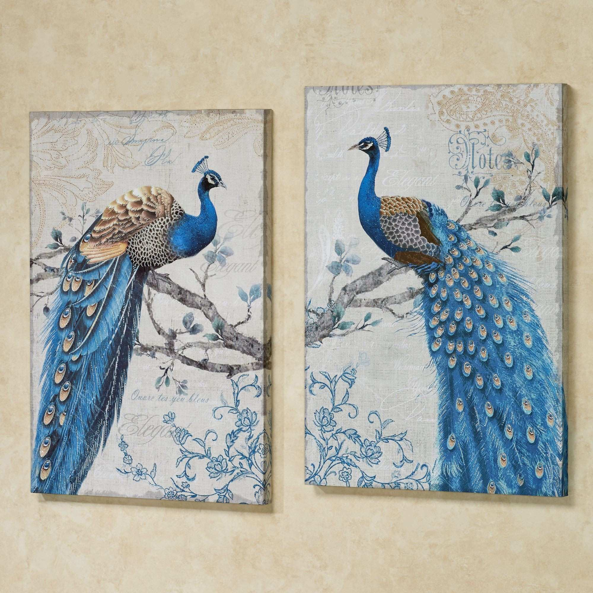 Navy Blue Wall Decor New 98 Wall Painting Designs Peacock Self Adhesive Beautiful Peacock