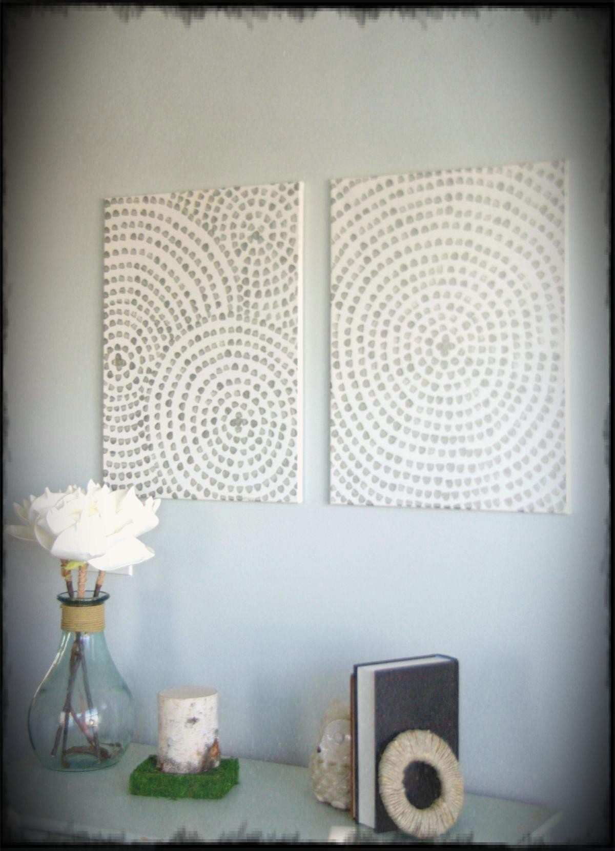Diy Canvas Wall Art A Low Cost Way To Add Your Home Ideas
