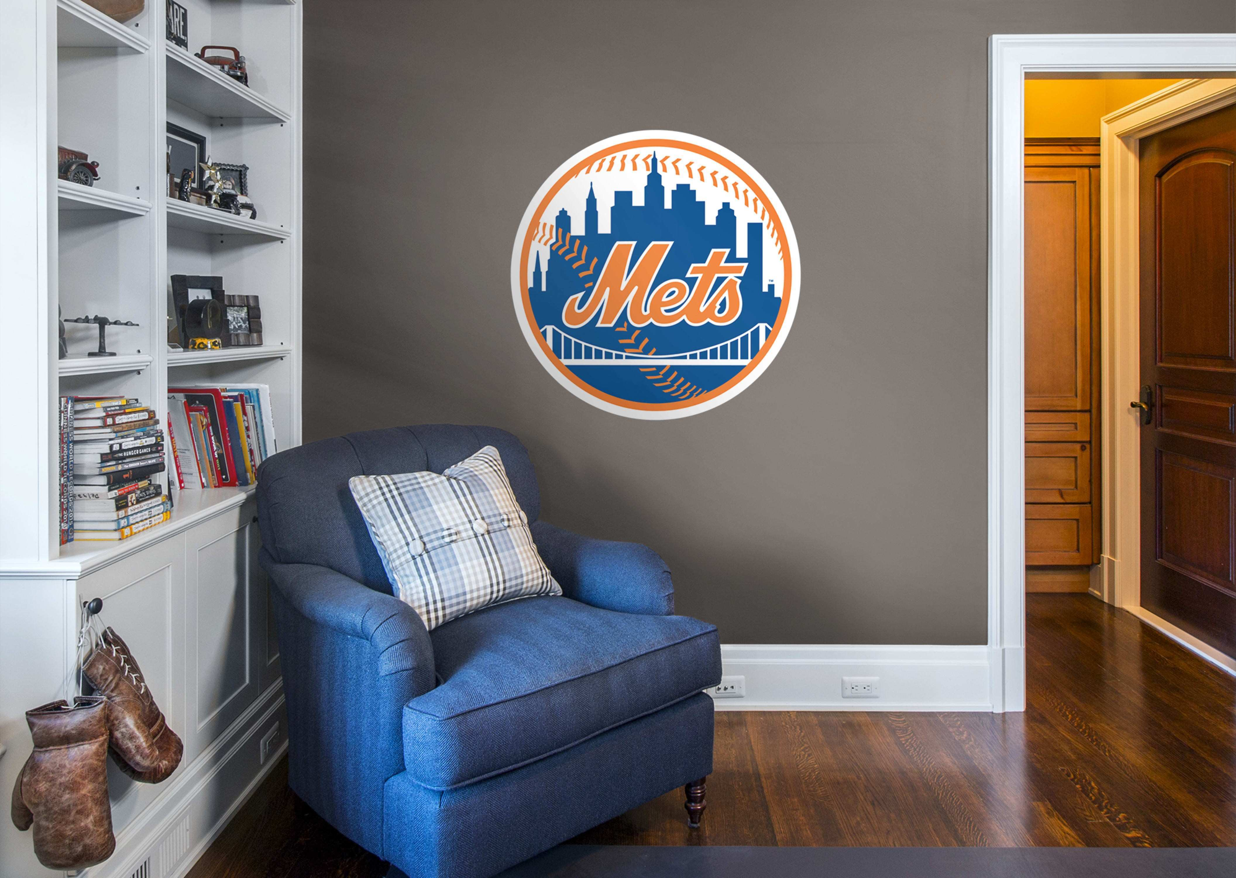 New York Mets Logo Wall Decal
