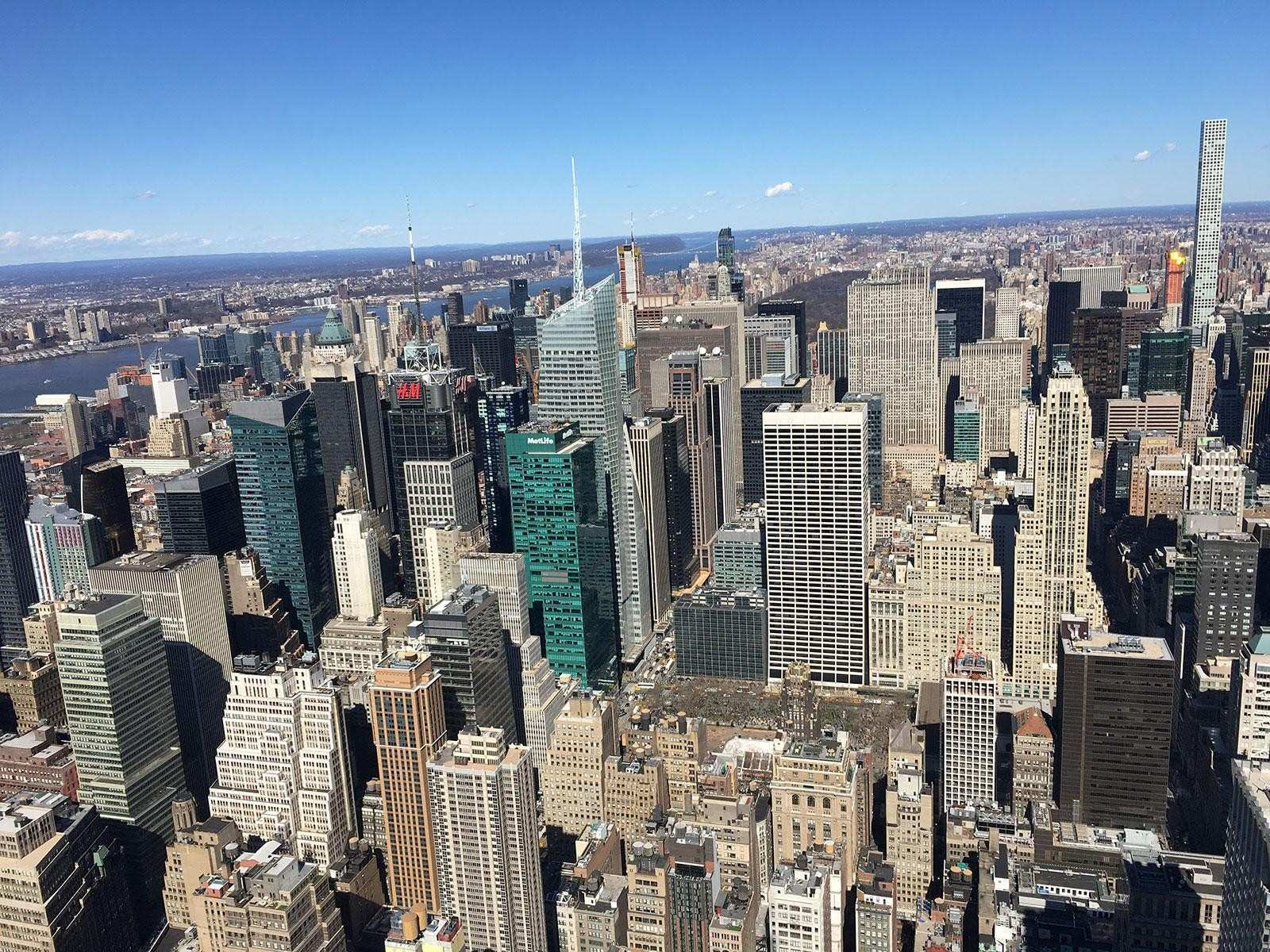 Empire State Building oder Top of the Rock