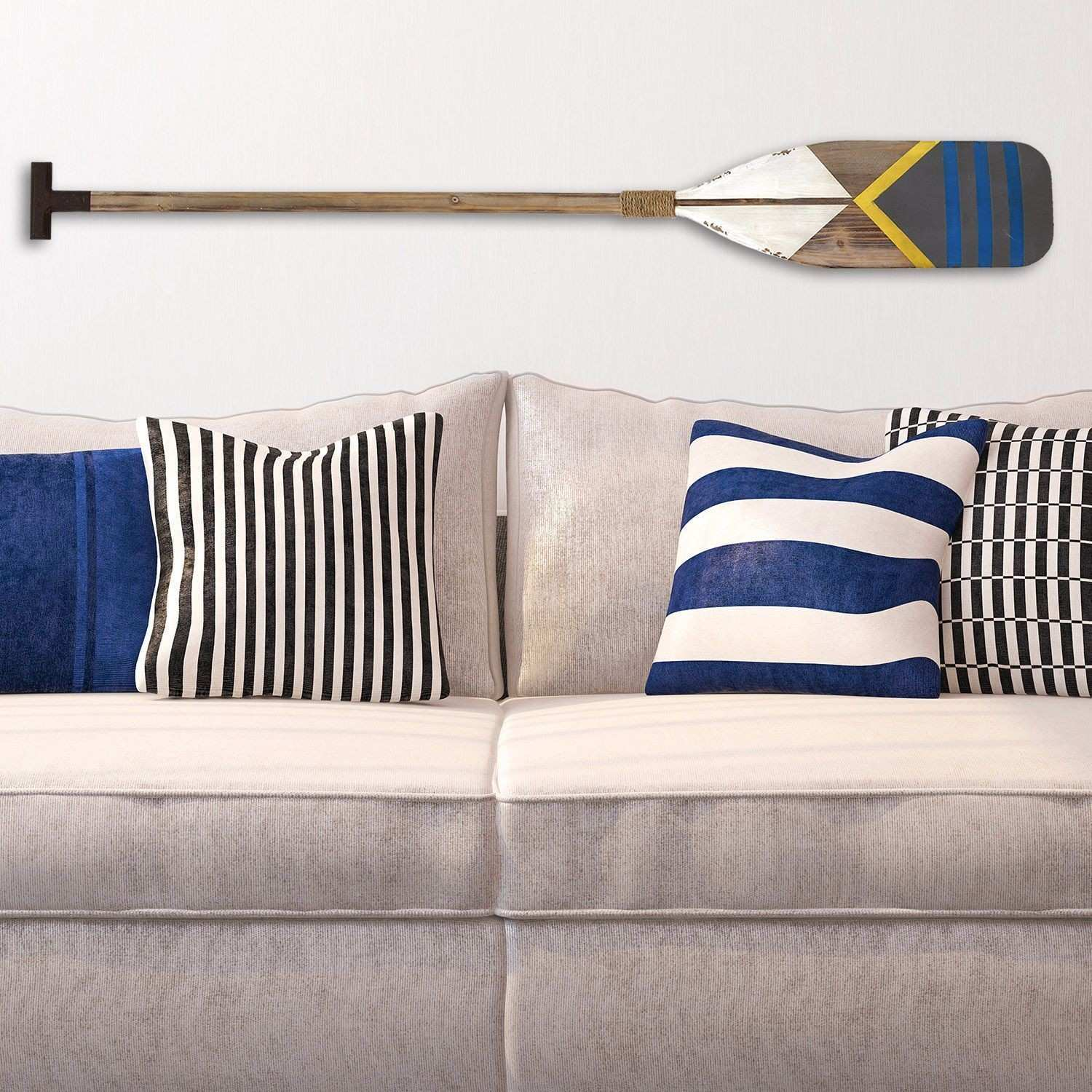 Stratton Home Decor Nautical Oar Wall Decor 8 00 X 1 75 X 60 00