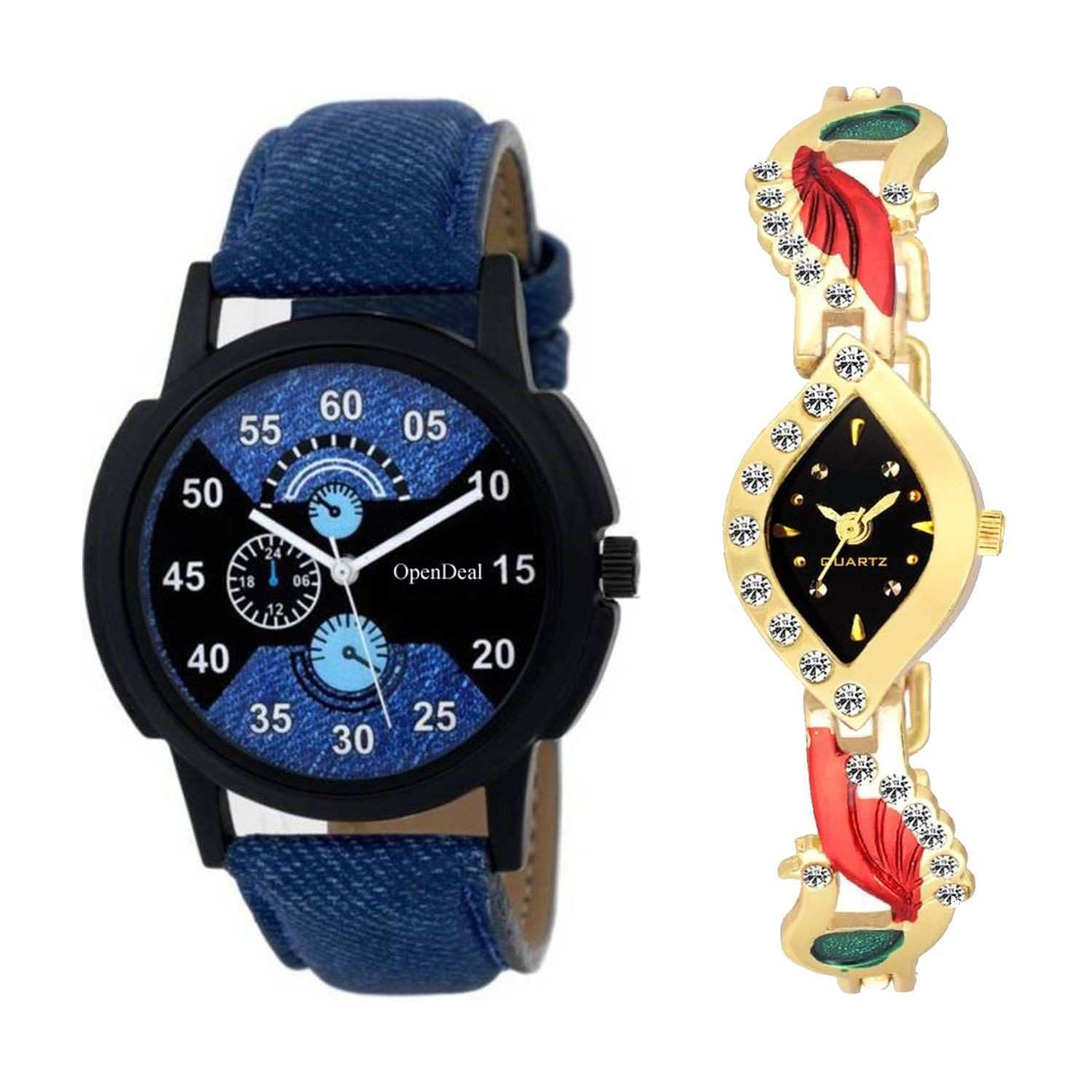 OD C2 022 New Arrival Stylish bo Couple Watch For Boys & Girls