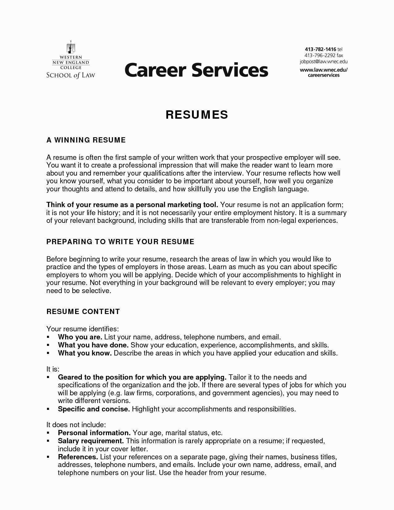 How to Prepare Cv format New Lovely How to Write A Proper Resume
