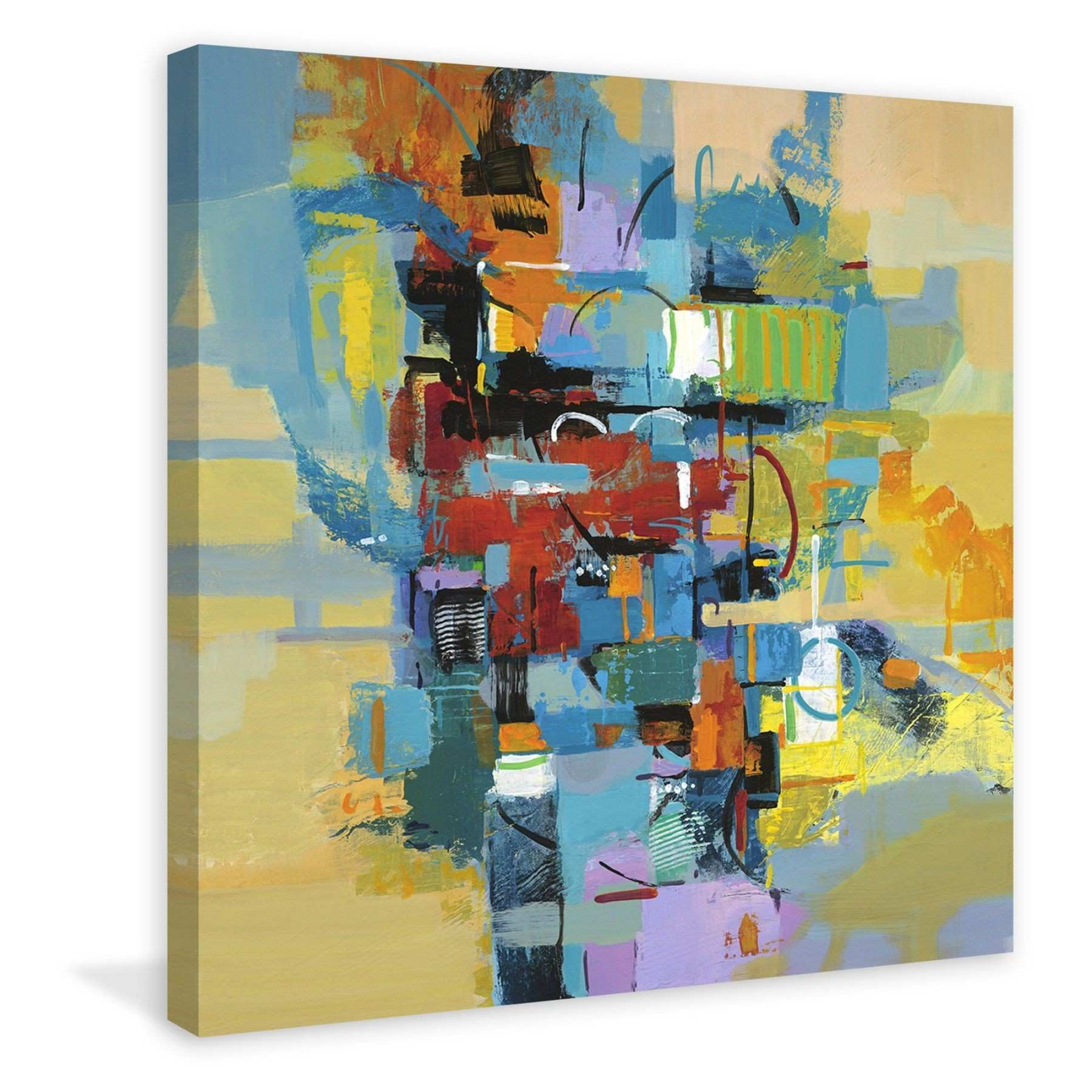 Marmont Hill Good Vibrations Print on Wrapped Canvas MH MWW JJ