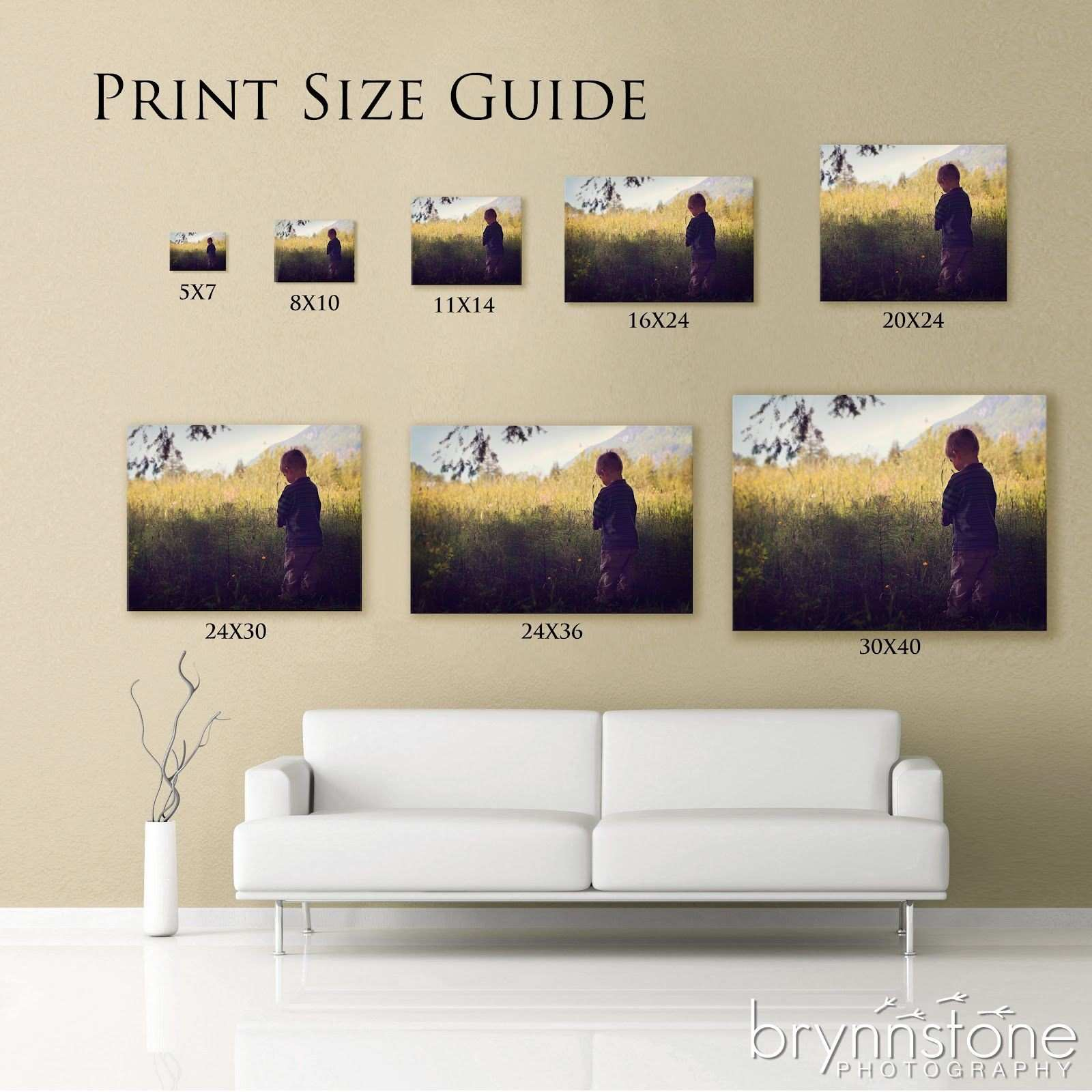 Think an 8x10 is a big enough print They re not as big as you think