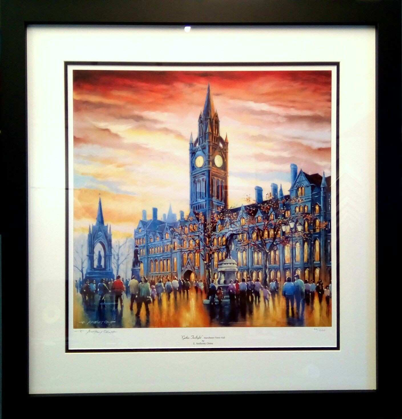 Another framing order ready for Santa to deliver Manchester Town