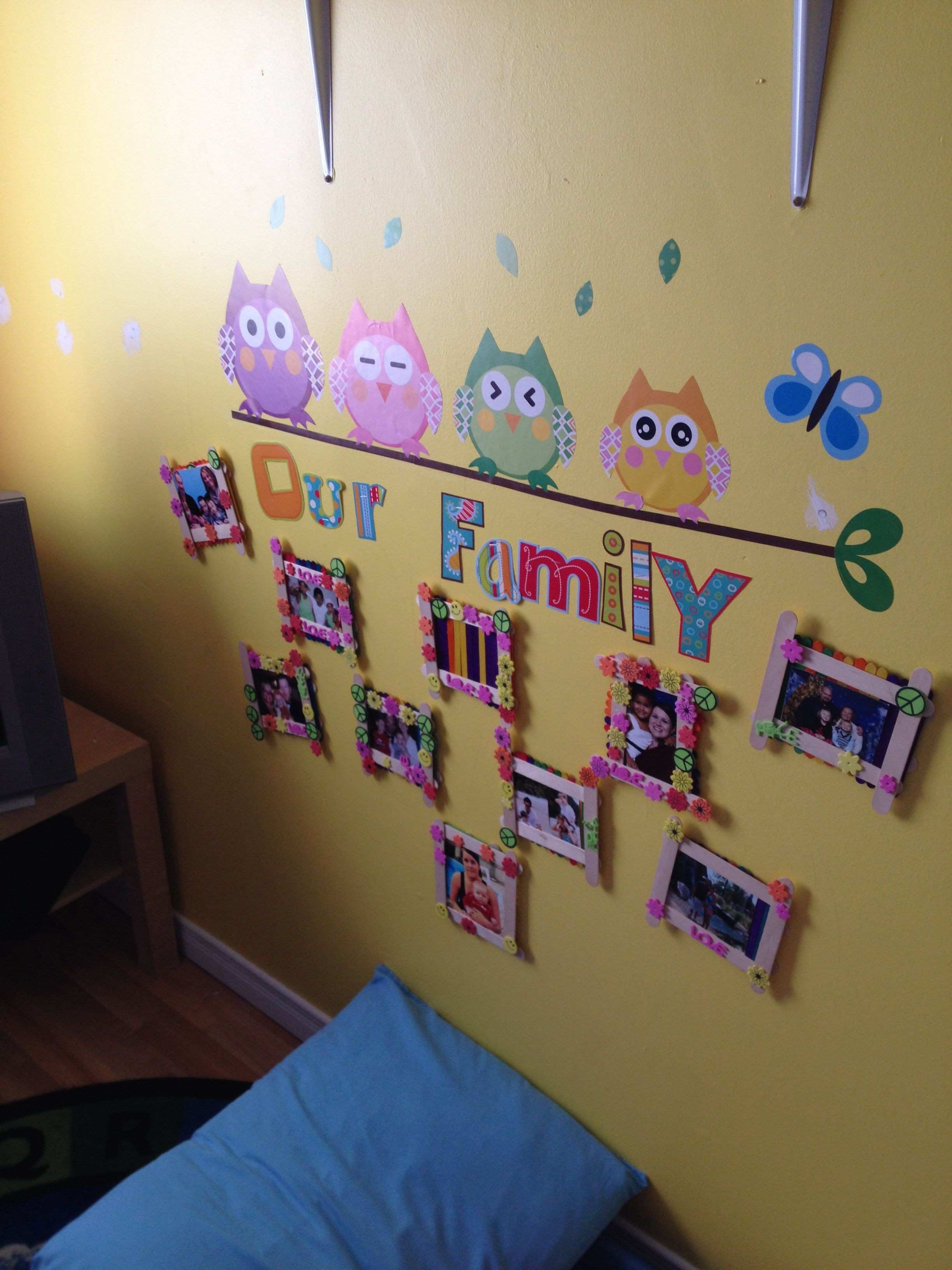 Toddler Room Decorating Ideas for Daycare Elegant Family s Wall