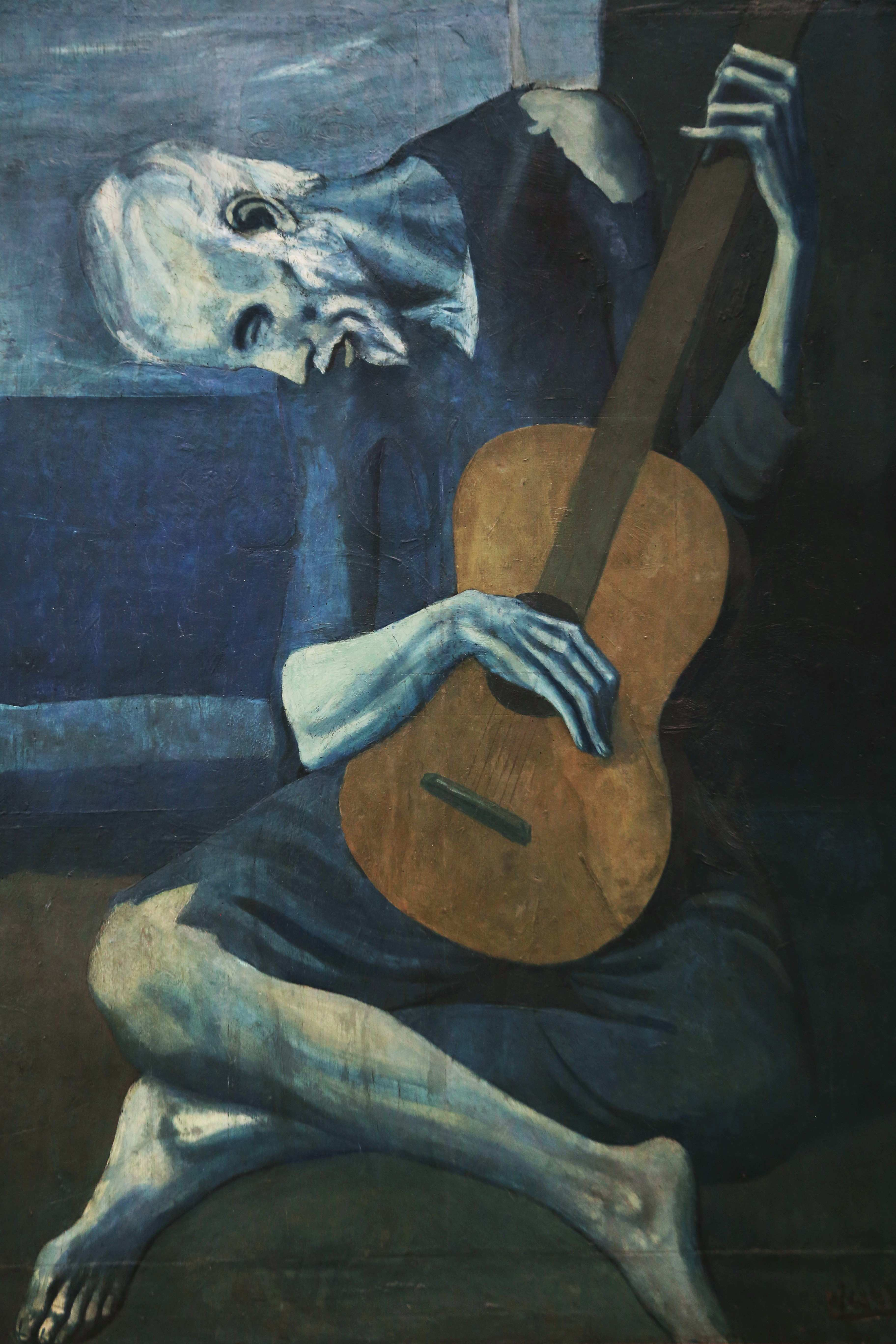 The Old Guitarist