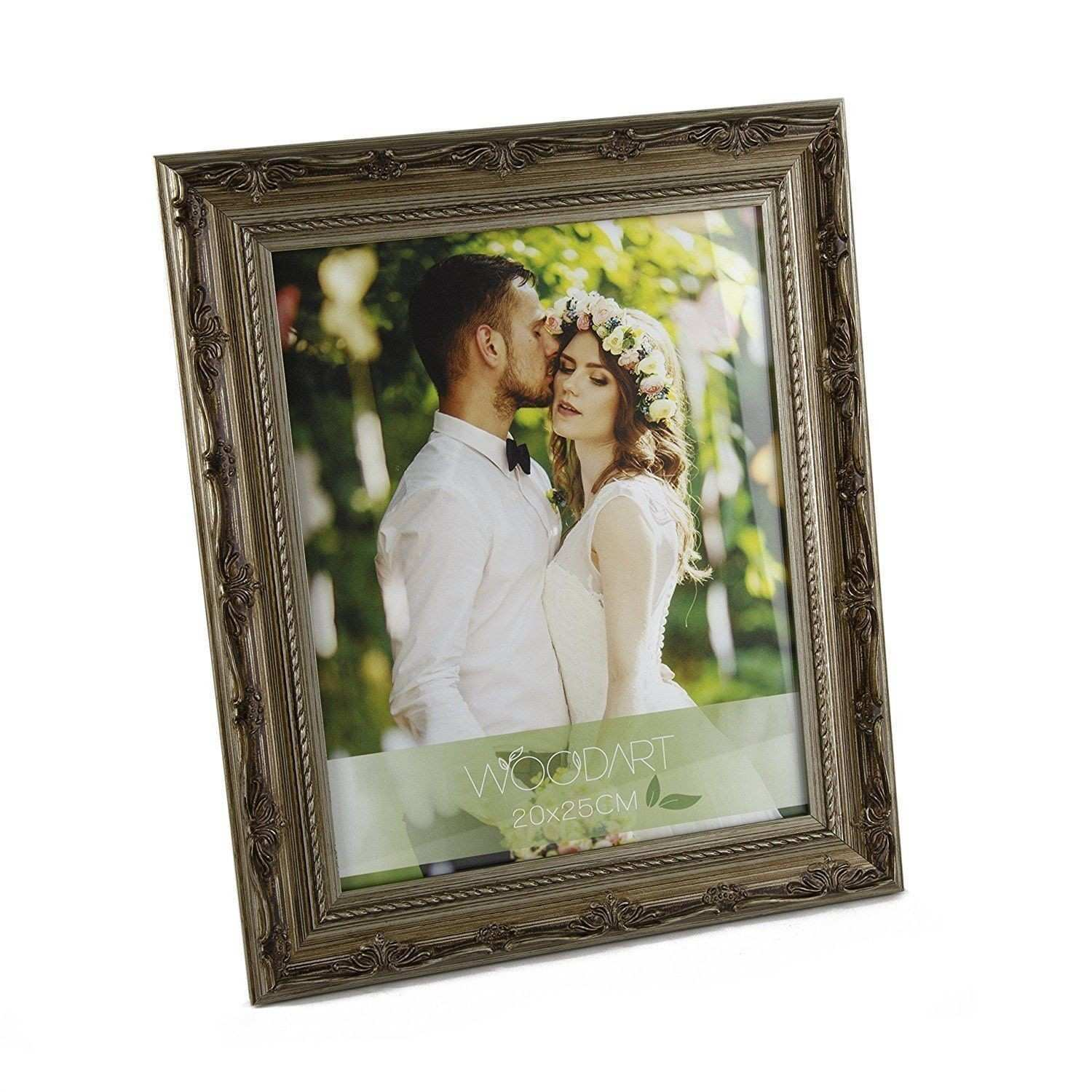 WOODART Ornate Wood Picture Frame by Wolff US