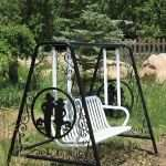 Outdoor Metal Art Awesome Outdoor Bench Swing Cut On A Plasmacam Machine Outdoorfurniture Of Outdoor Metal Art