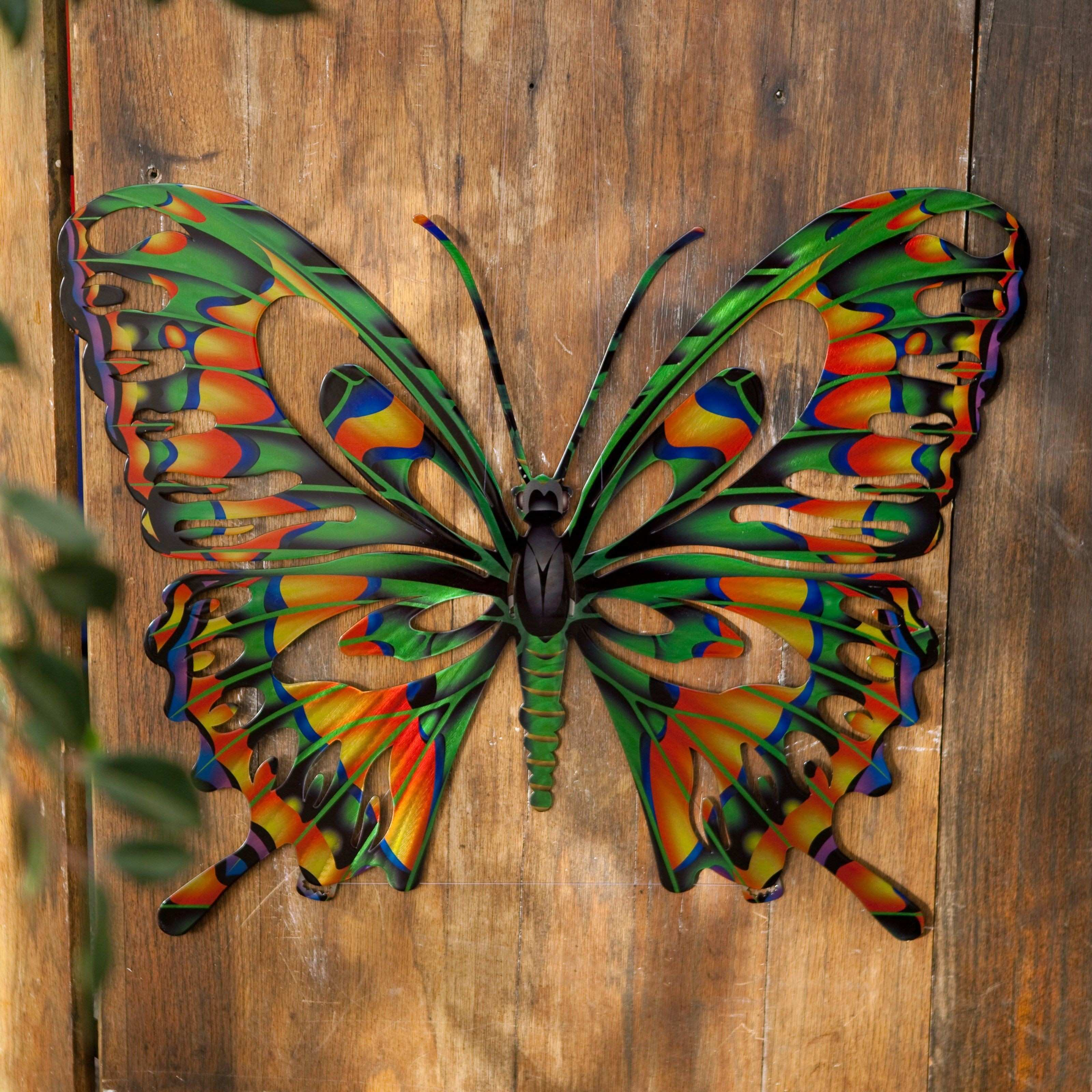 Have to have it 3D Butterfly Metal Outdoor Wall Art $39 99
