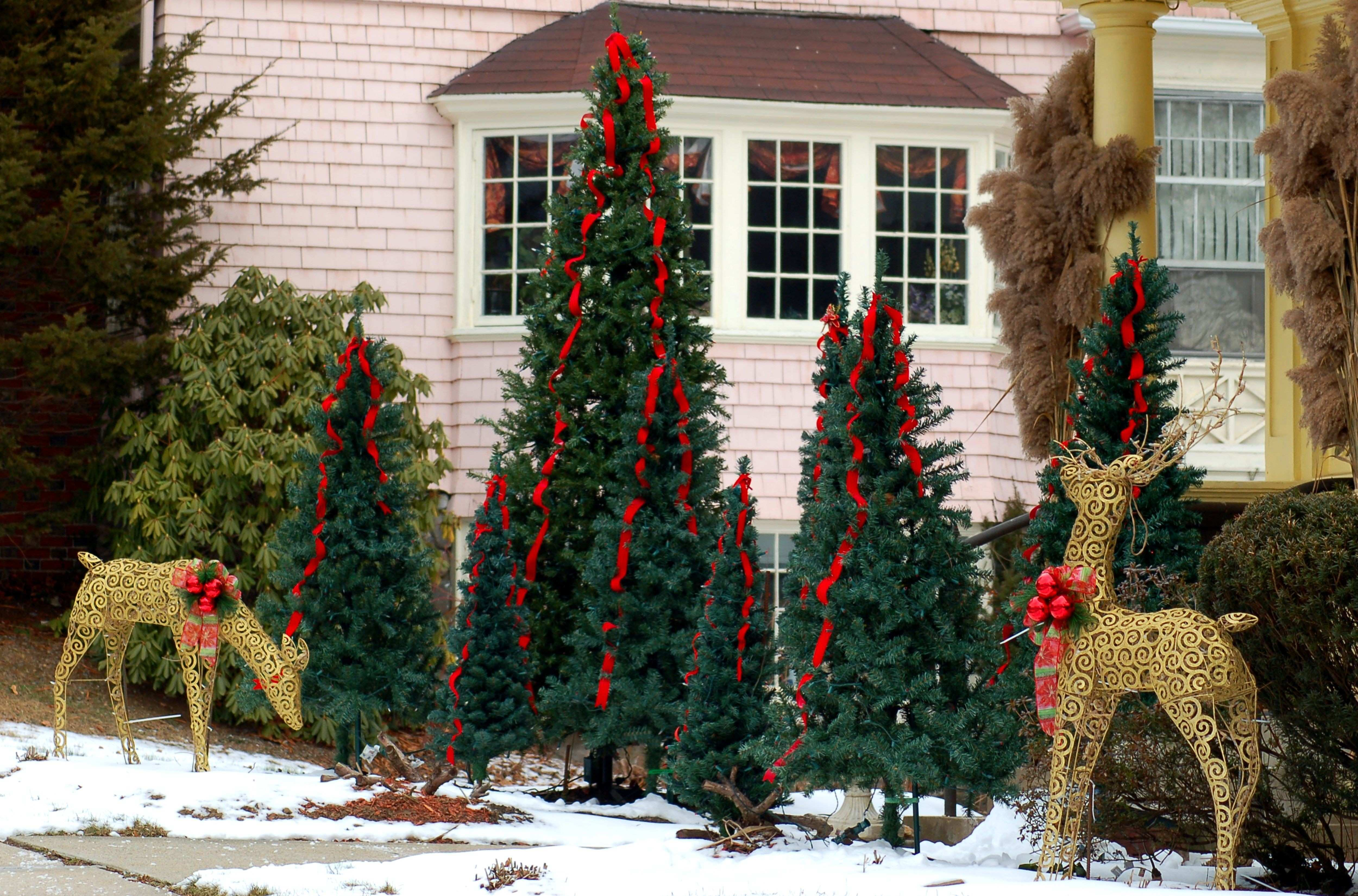 25 Outdoor Christmas Decoration Ideas in
