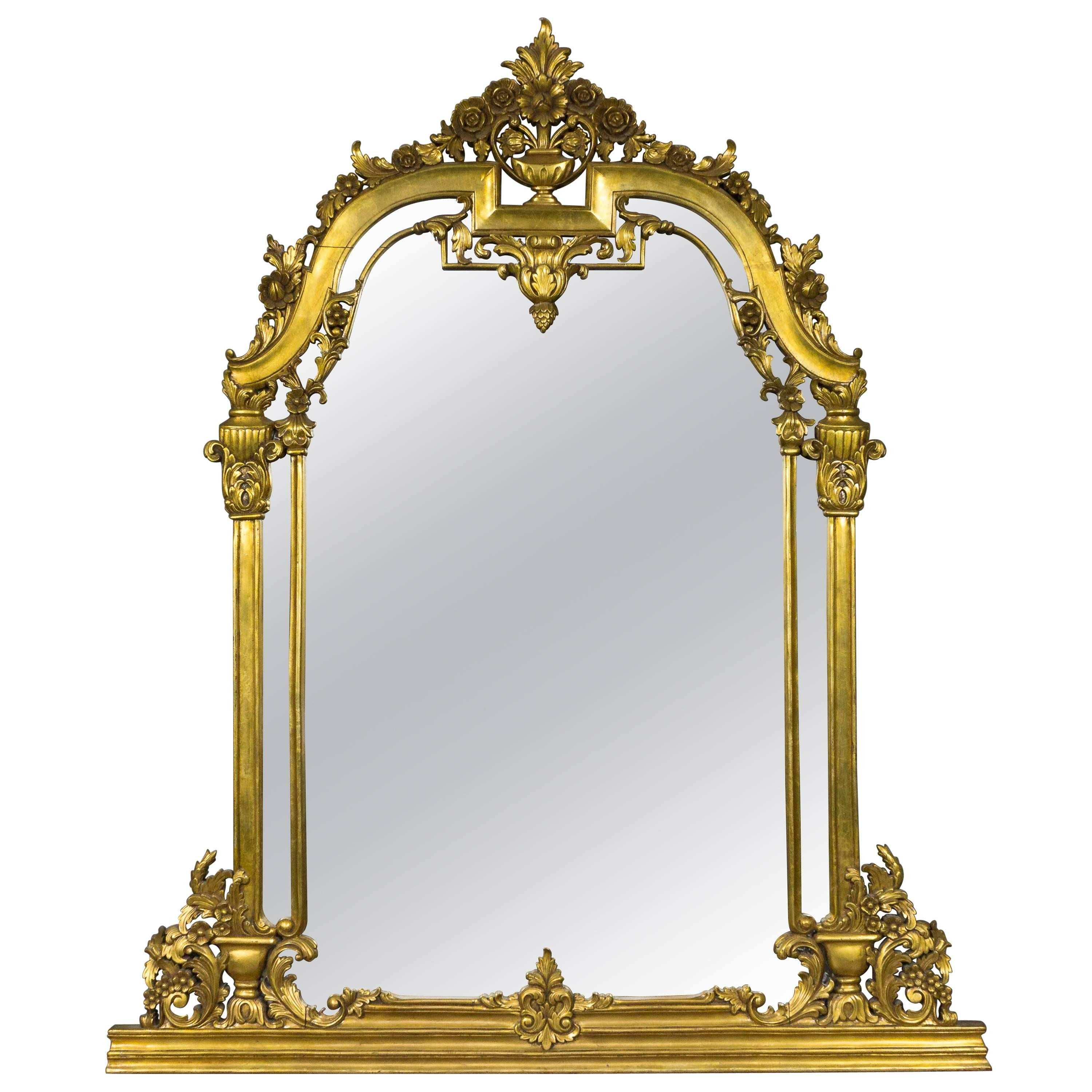 Renaissance Revival Mirror in the Manner of Herter Brothers at 1stdibs