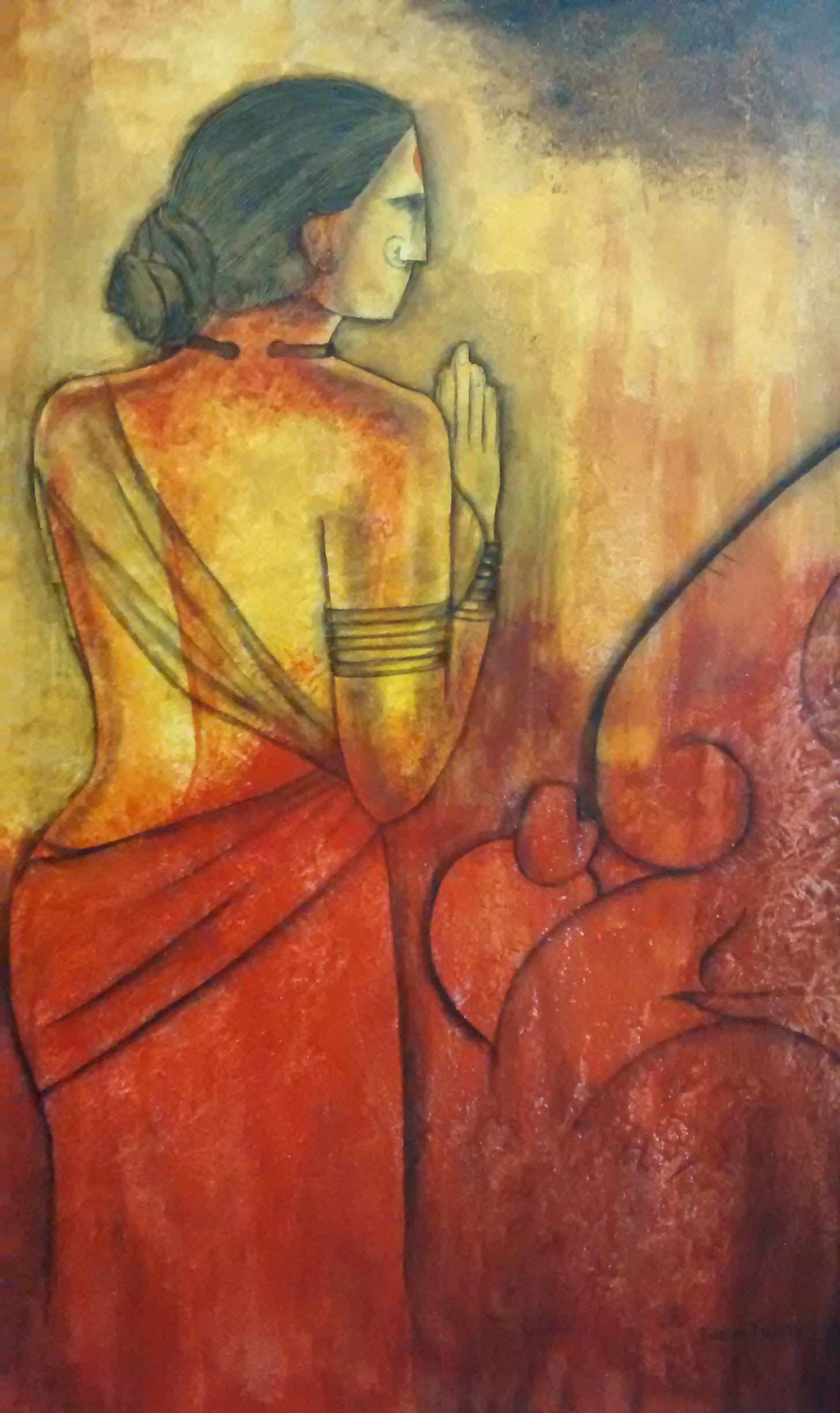 Pin by Janaki Injety on Indian Contemporary Paintings