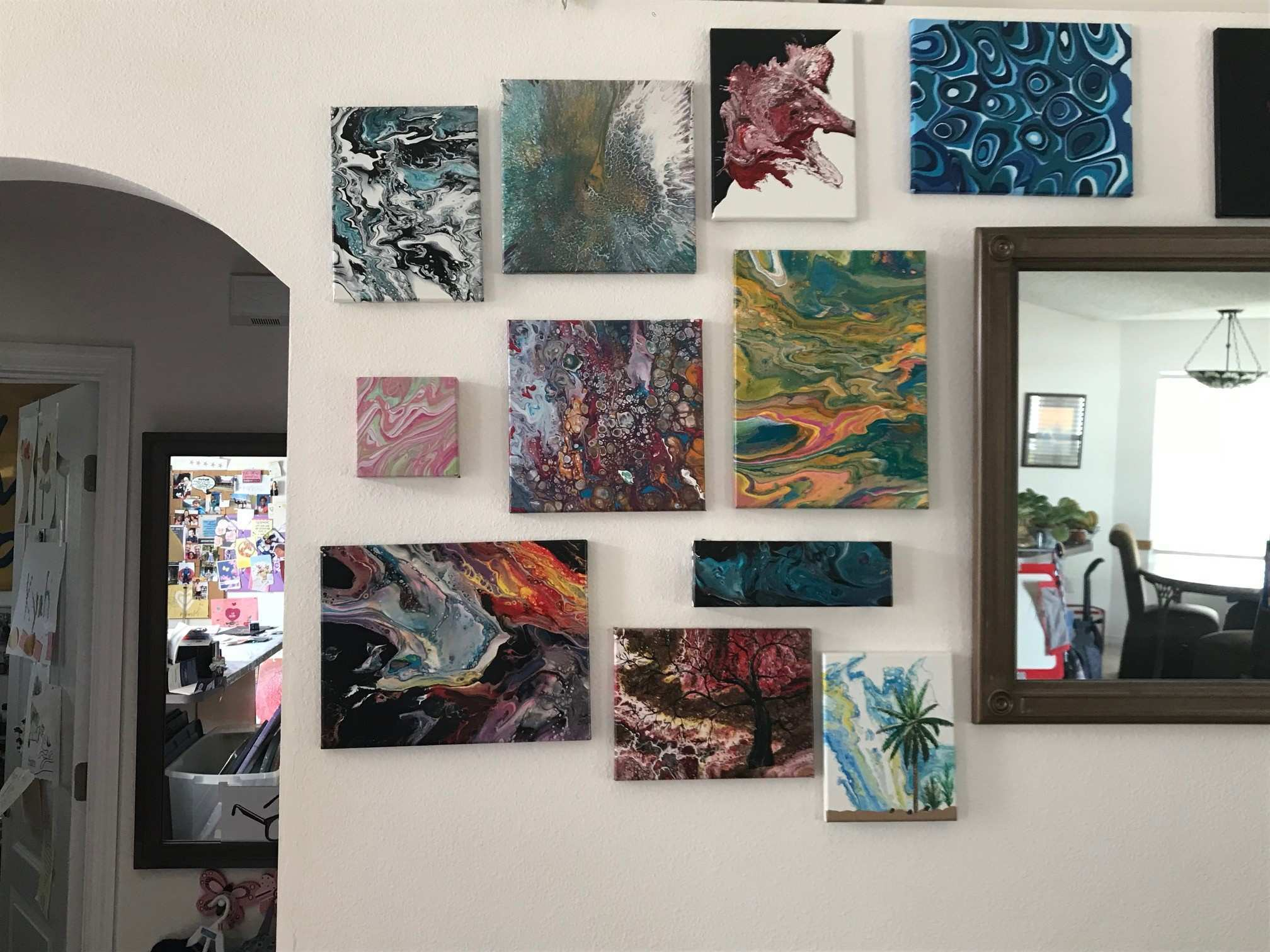 Confessions of an Acrylic Pouring Addict