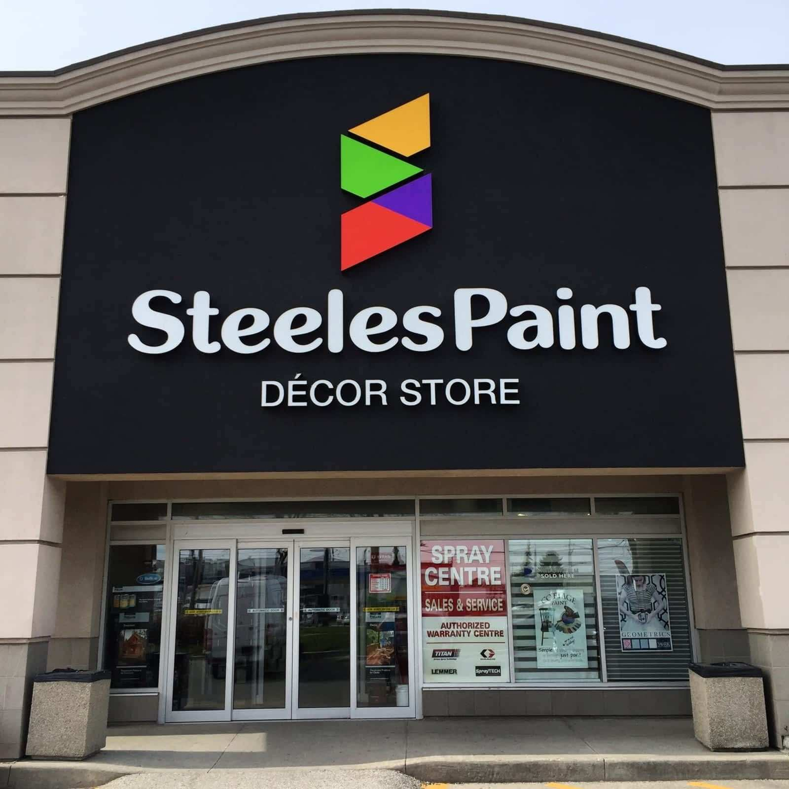 Steeles Paint & Decor Store Opening Hours 4190 Steeles Ave W