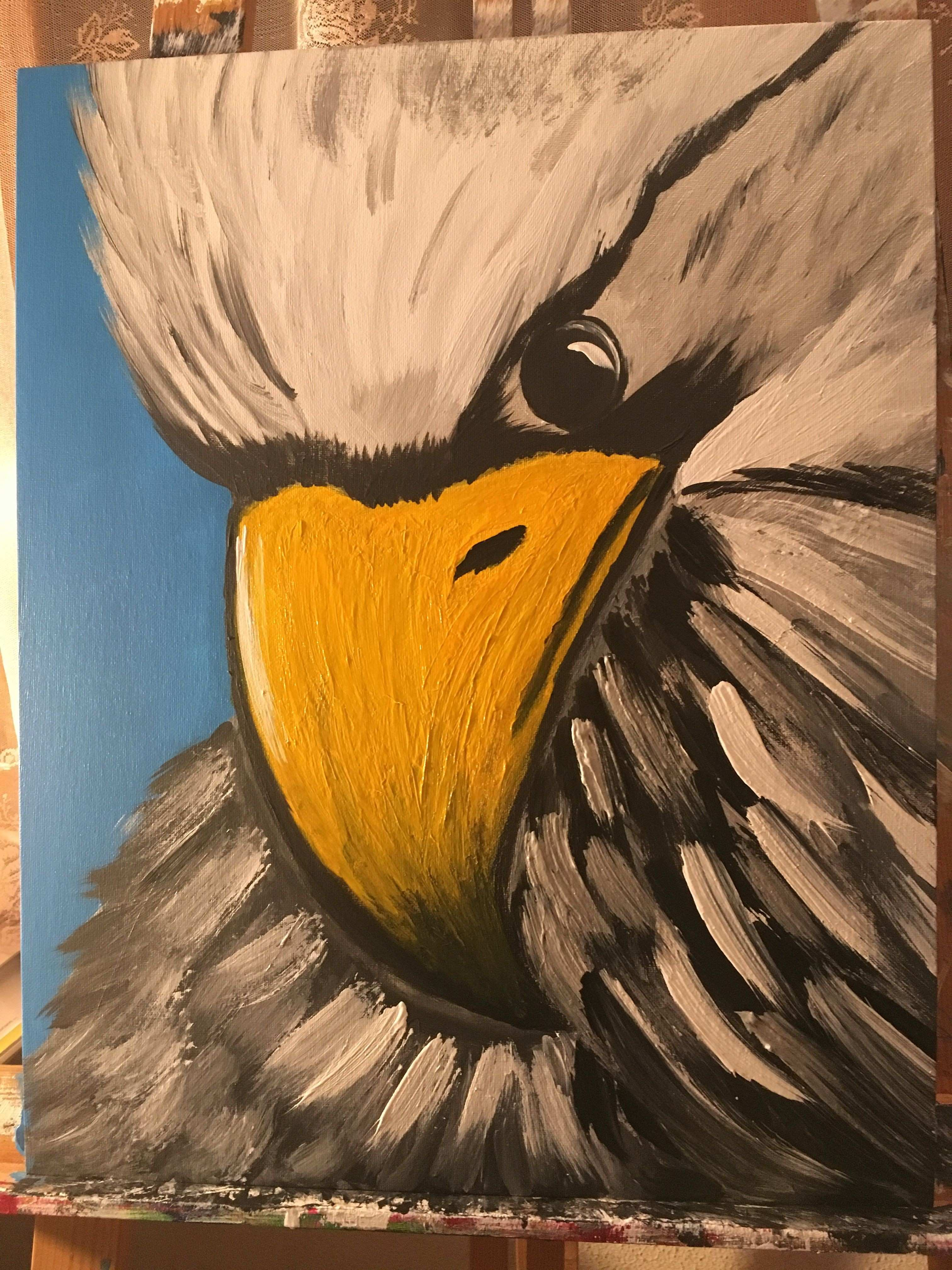 Amazing eagle painting Prophetic Painting Art