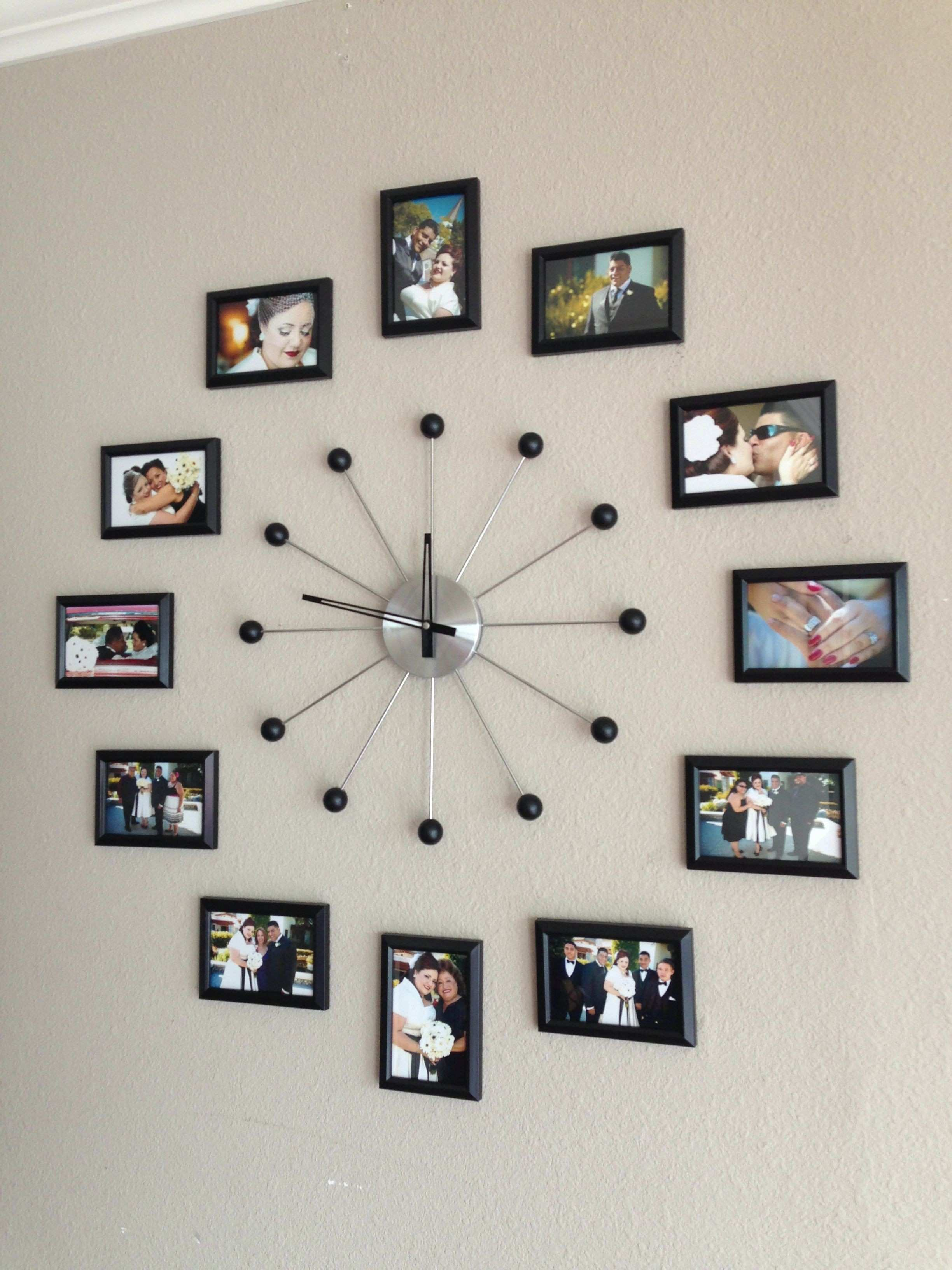 35 Elegant Picture Frame Wall Clock