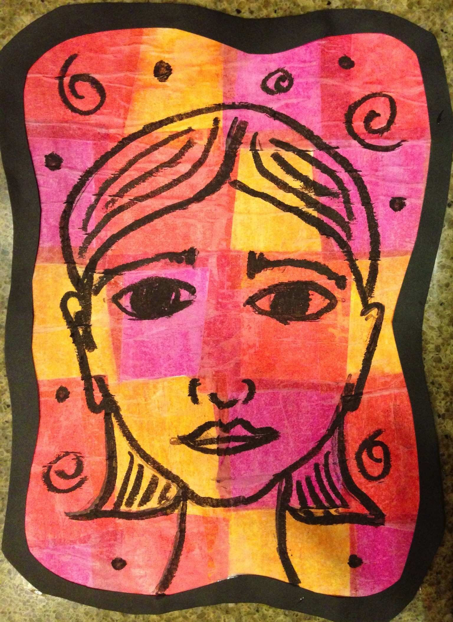Klee Inspired Portraits