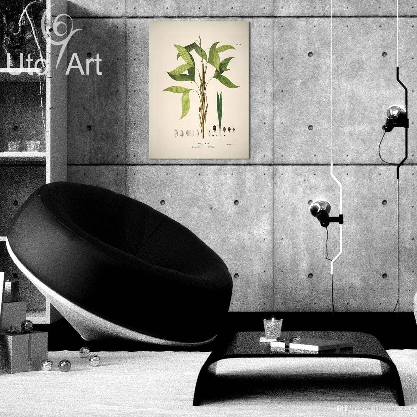 HD Modern Custom Wall Art Print Decoration Painting Leaf Digital
