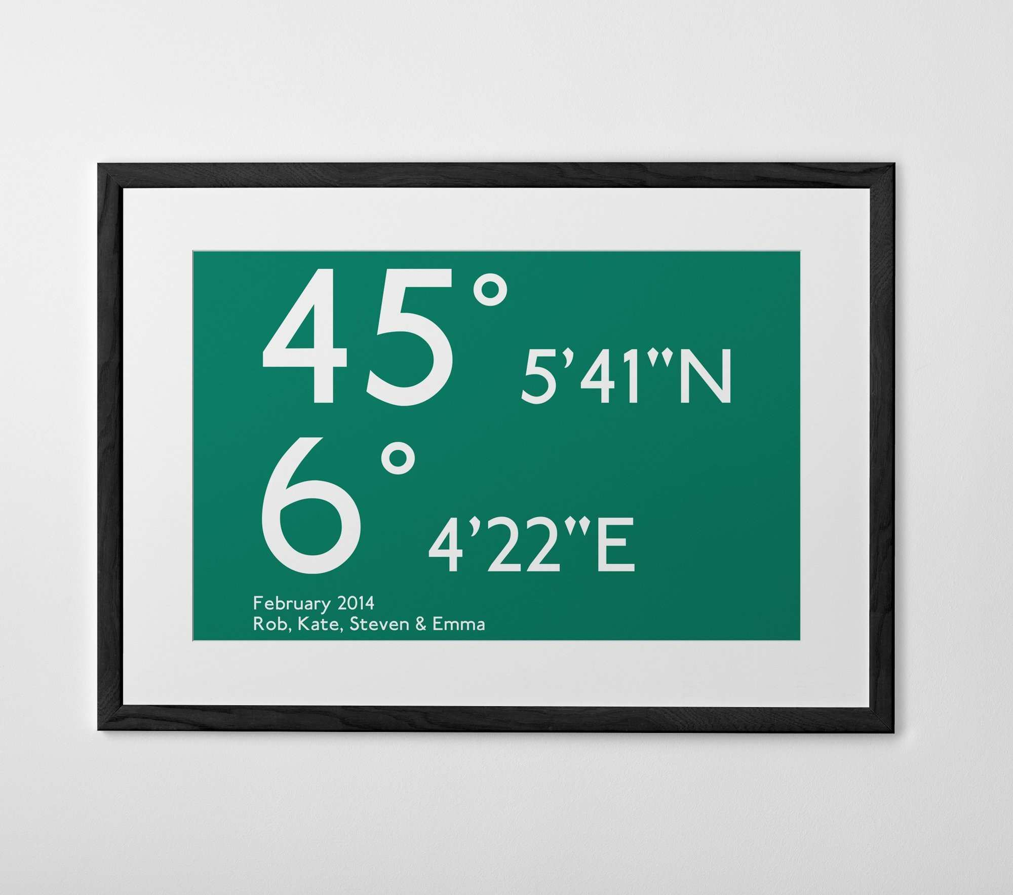 Personalized typography prints posters and canvases Posterhaste